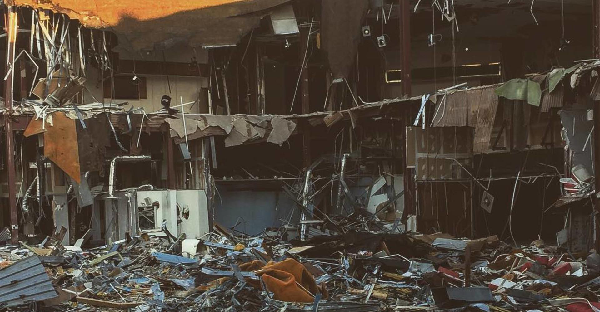 Le bellissime immagini di alcuni centri commerciali abbandonati