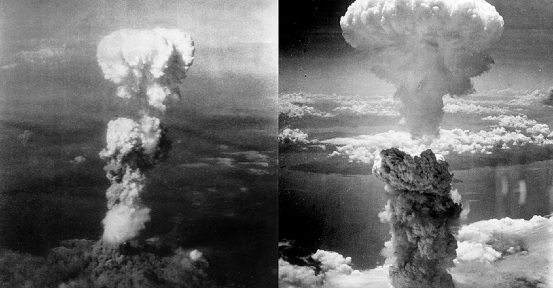 Historiens enda kärnvapenbombningar i krig: Nagasaki och Hiroshima