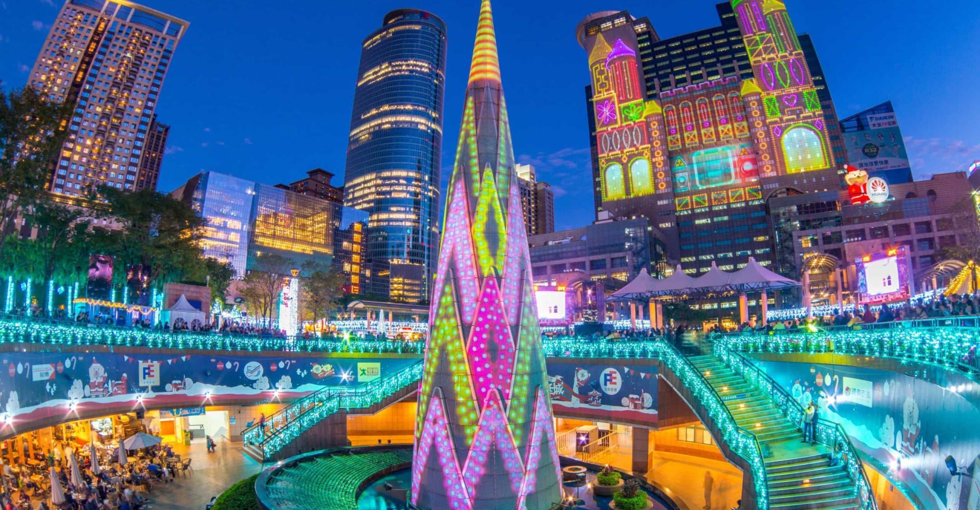 Die schönsten Weihnachtsbäume der Welt