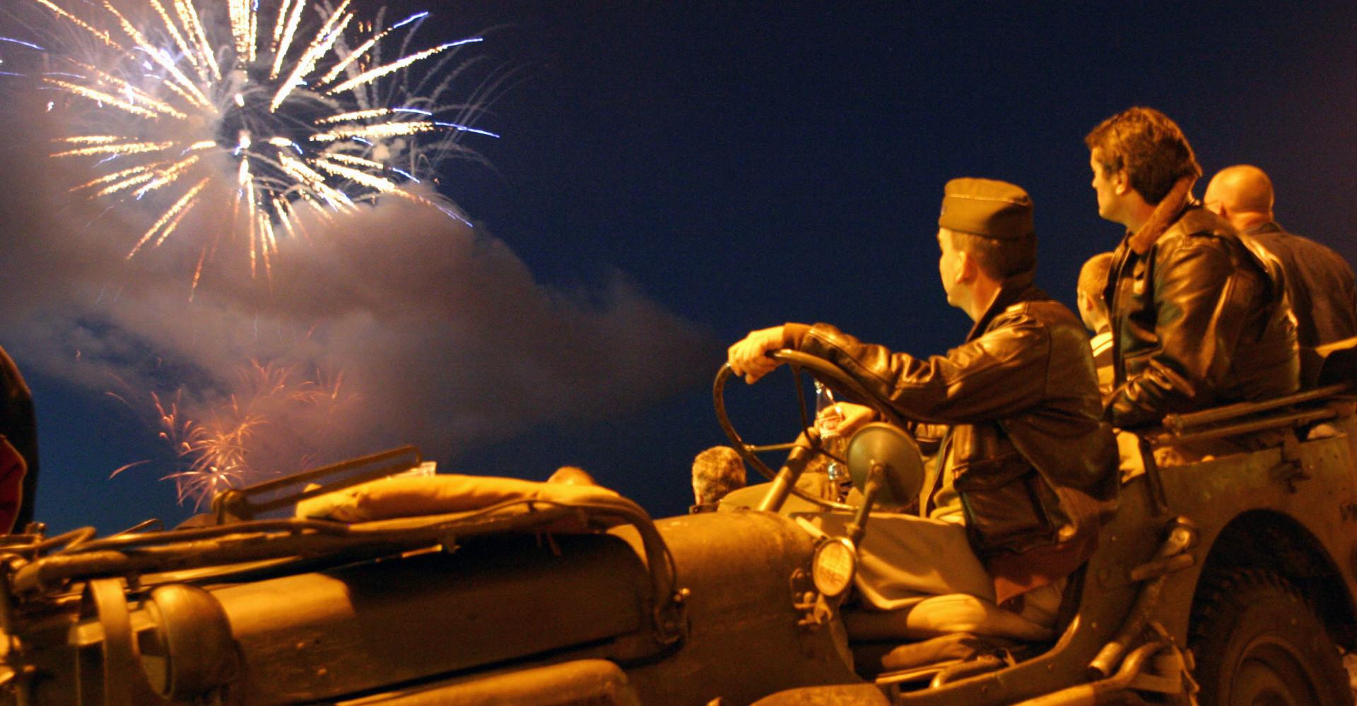 De quand date le premier feu d'artifice français?