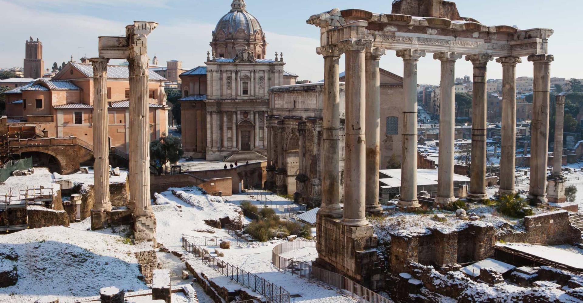 L'Italia innevata e i suoi paesaggi natalizi!