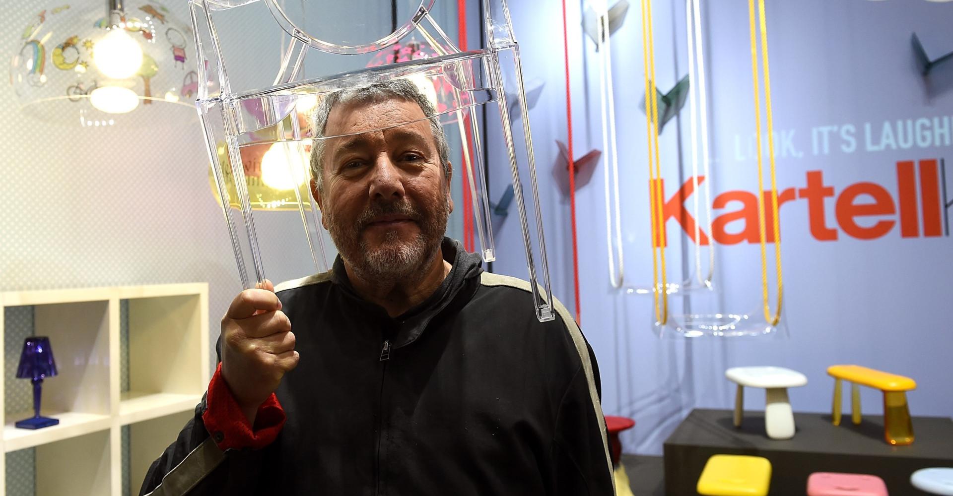 La star du design Philippe Starck a 70 ans!