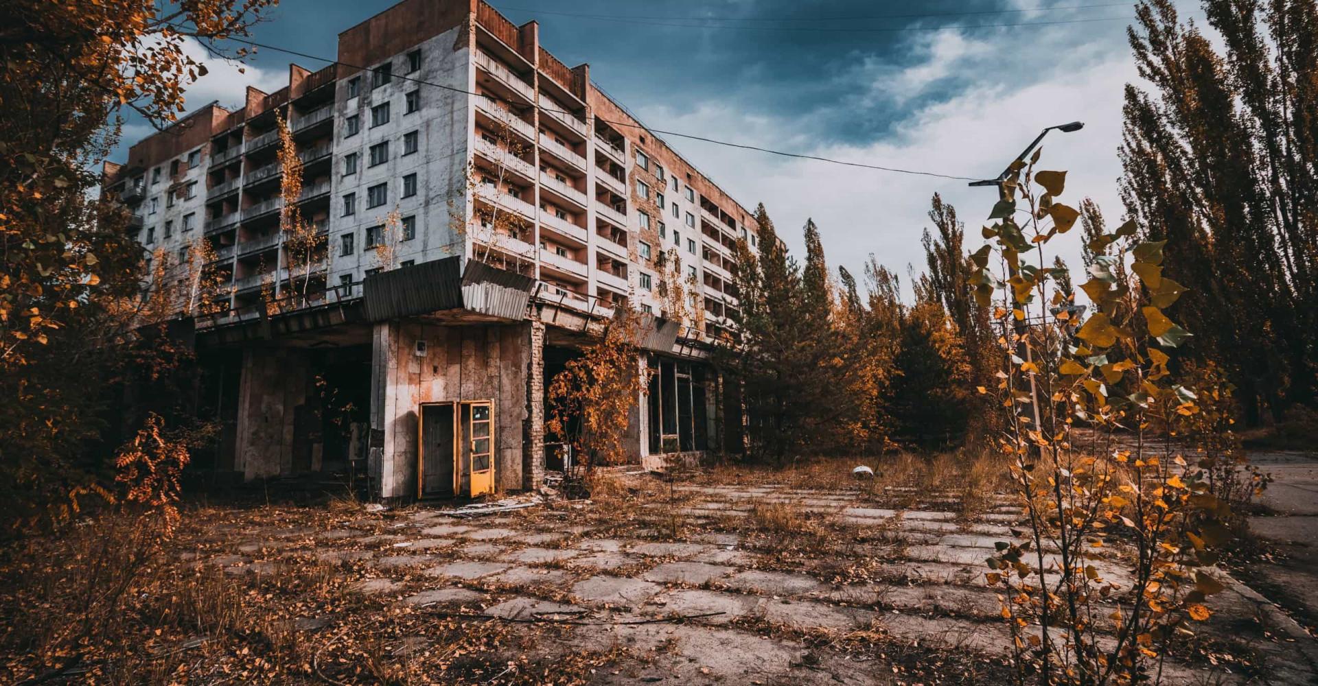 L'après Tchernobyl: immersion dans une ville fantôme d'Ukraine