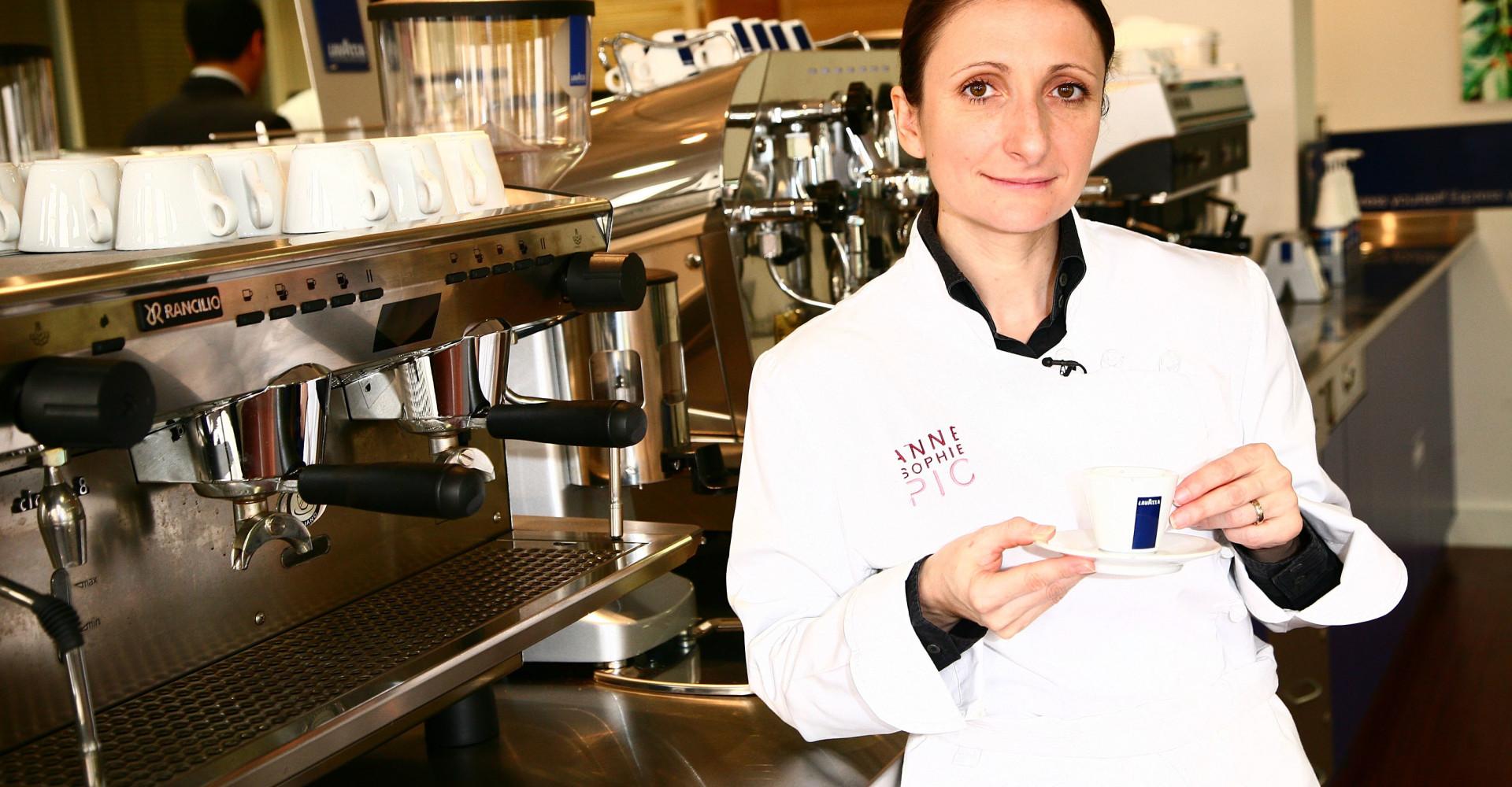 Anne-Sophie Pic, l'unique chef cuisinier étoilée de France
