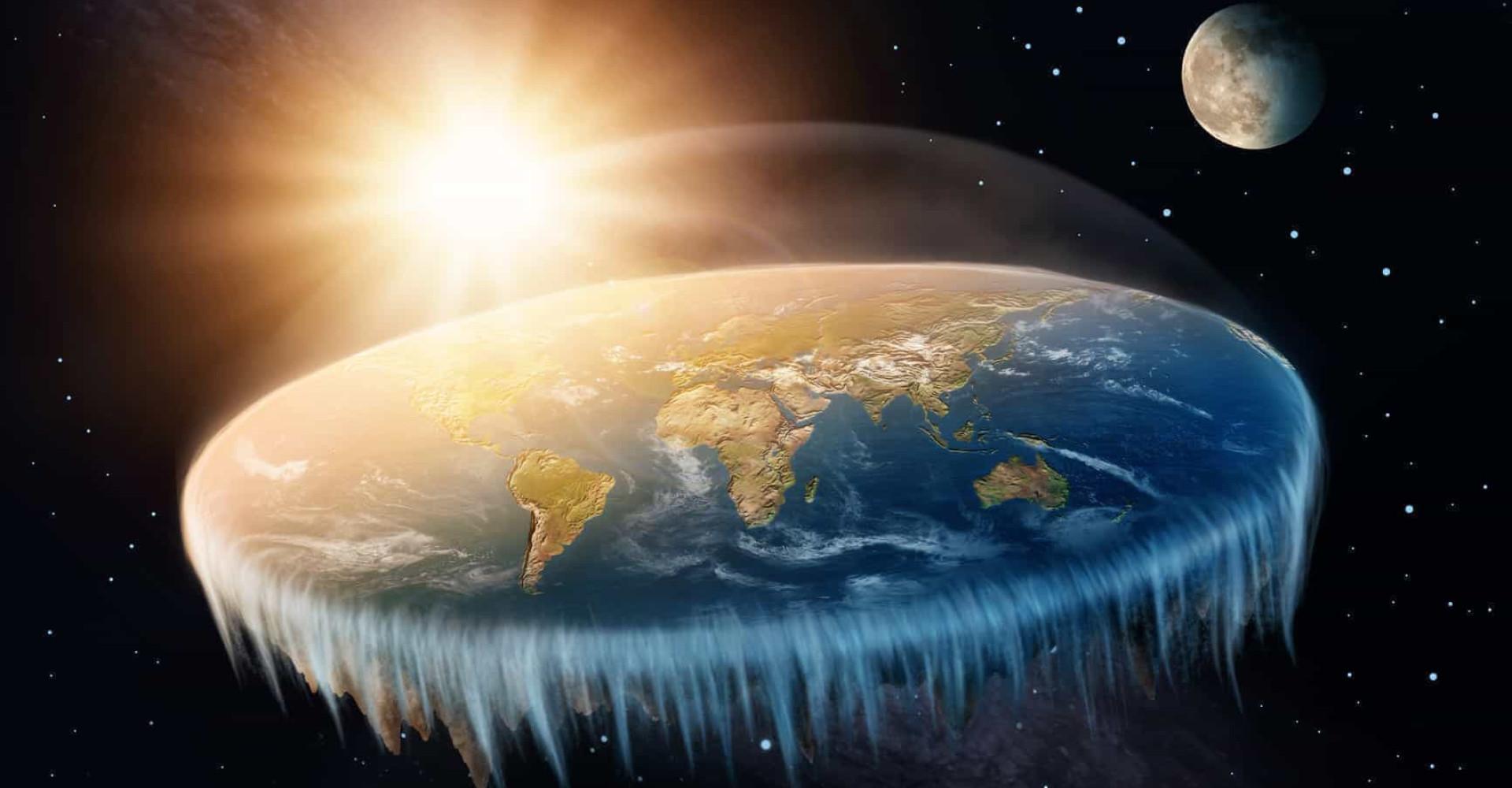 ¿Qué ocurriría si la Tierra fuese plana?