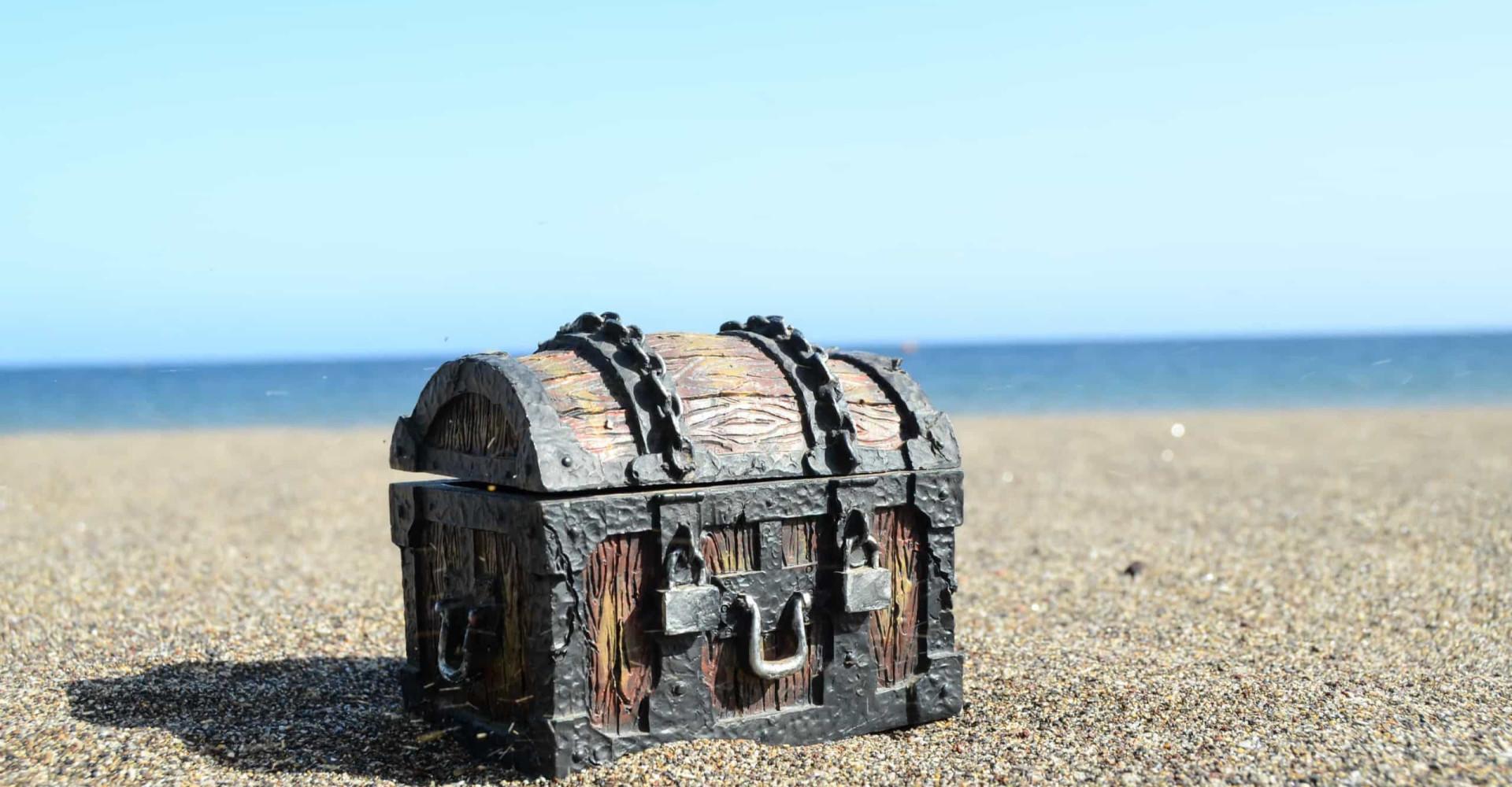 En la isla de Oak hay un tesoro... y nadie sabe dónde está