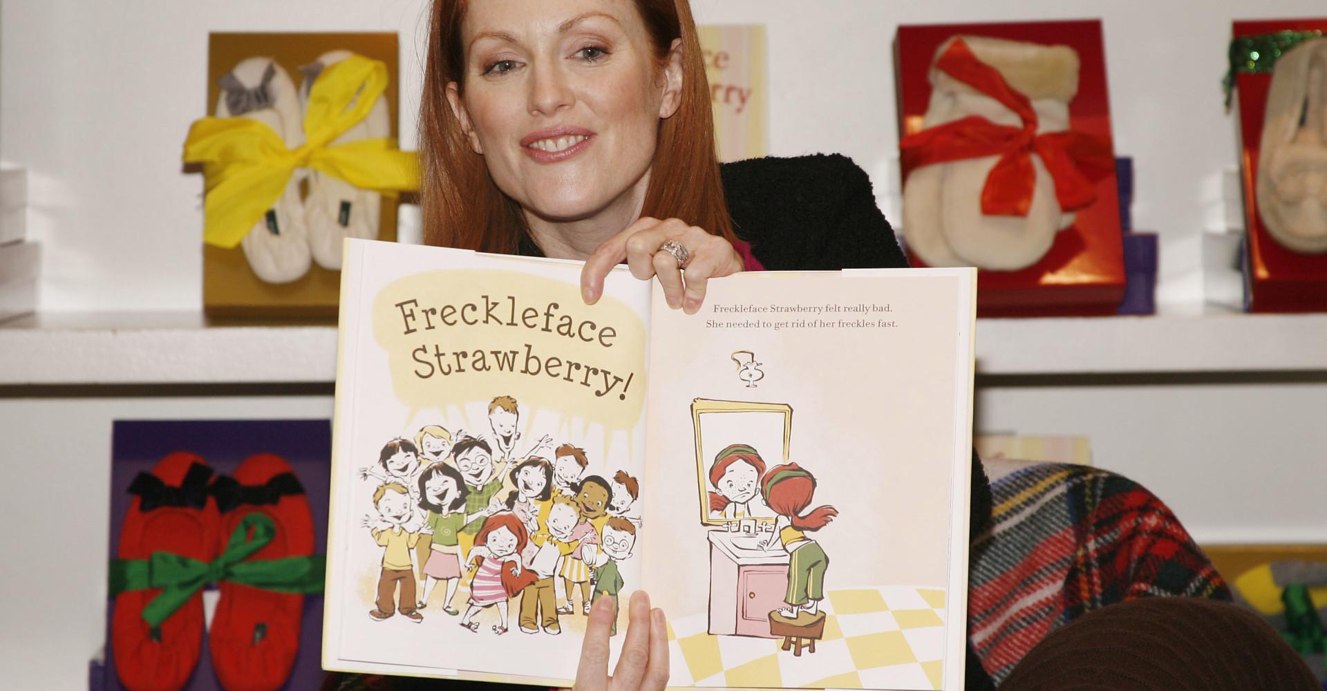 Beroemdheden die kinderboeken geschreven hebben