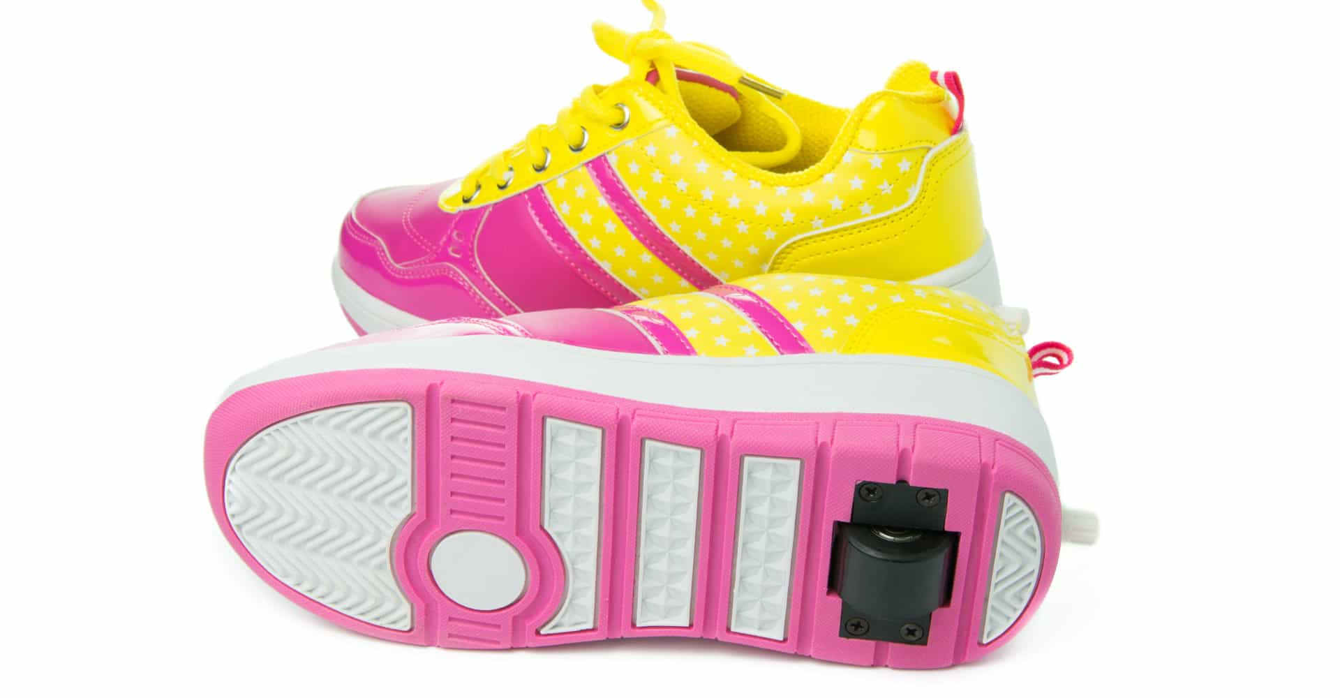 There's now a modern version of Heelys, the shoes with wheels