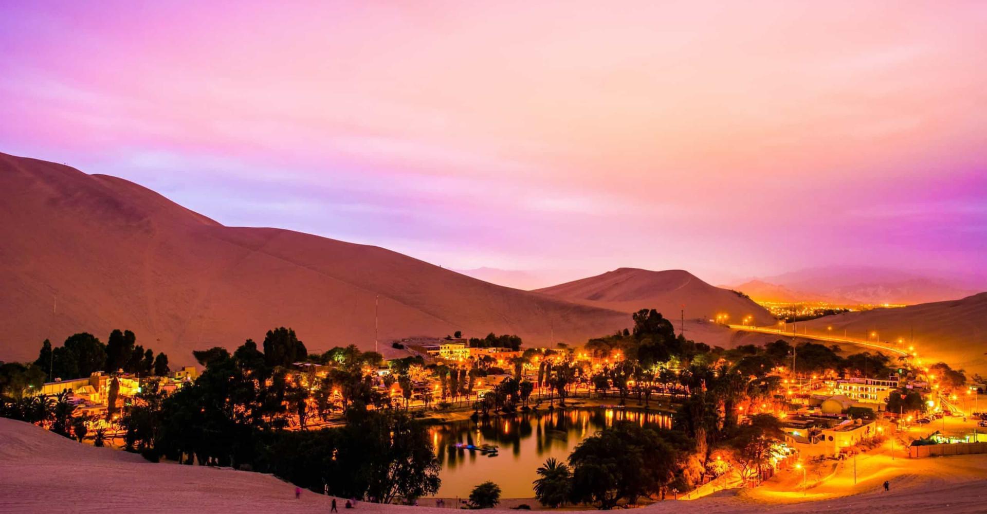 Laguna de Huacachina: alla scoperta di un'oasi nel deserto del Perù
