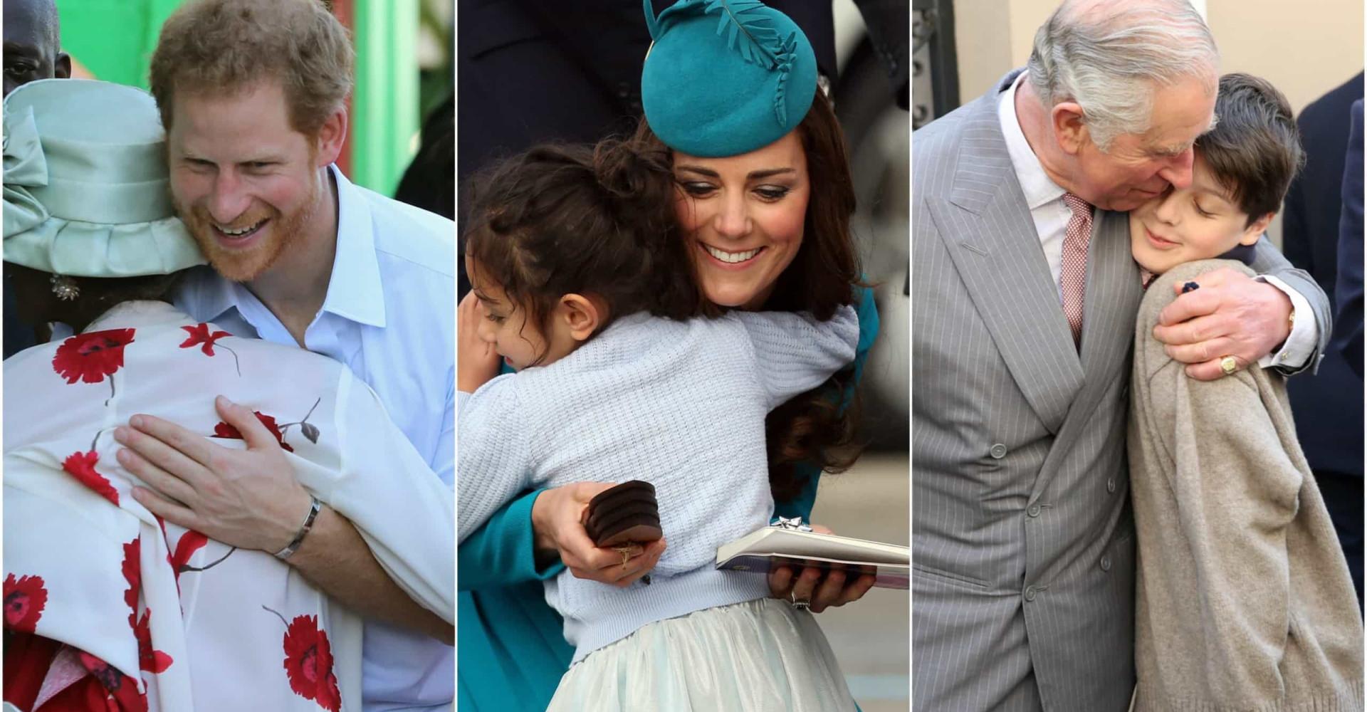 The best royal hugs