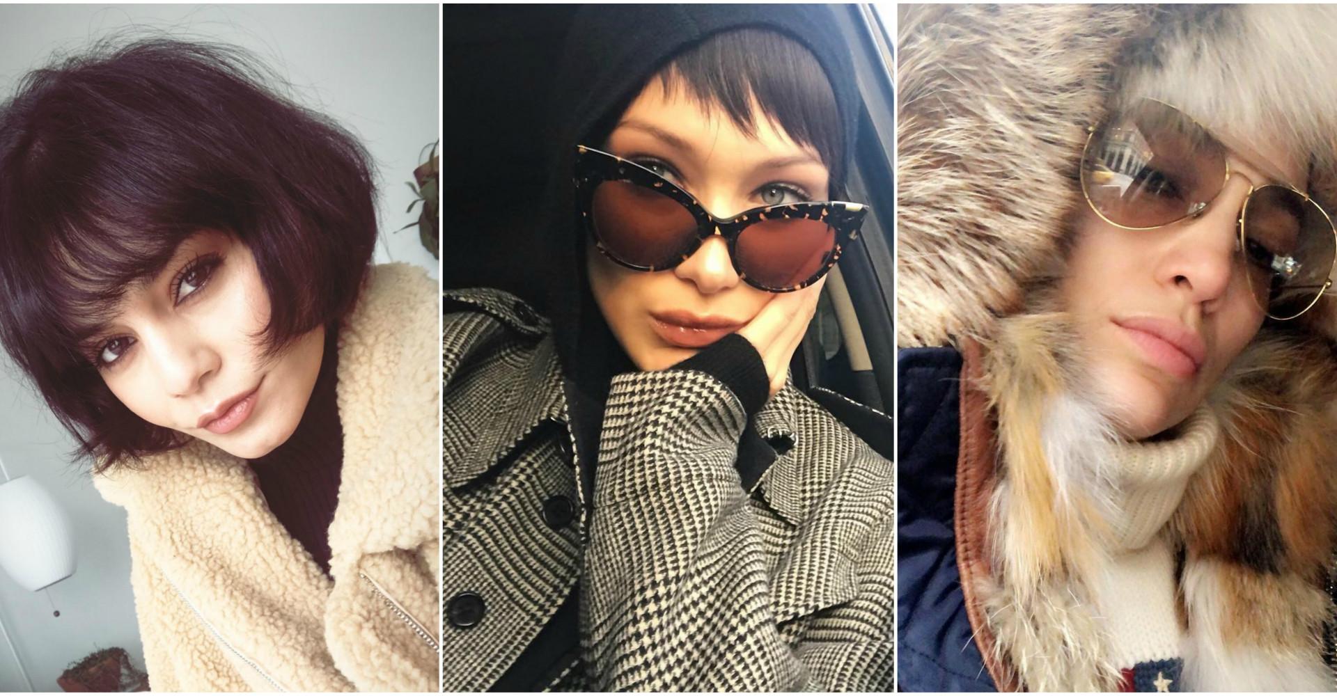 Los modelitos de invierno más bonitos de las famosas en las redes sociales