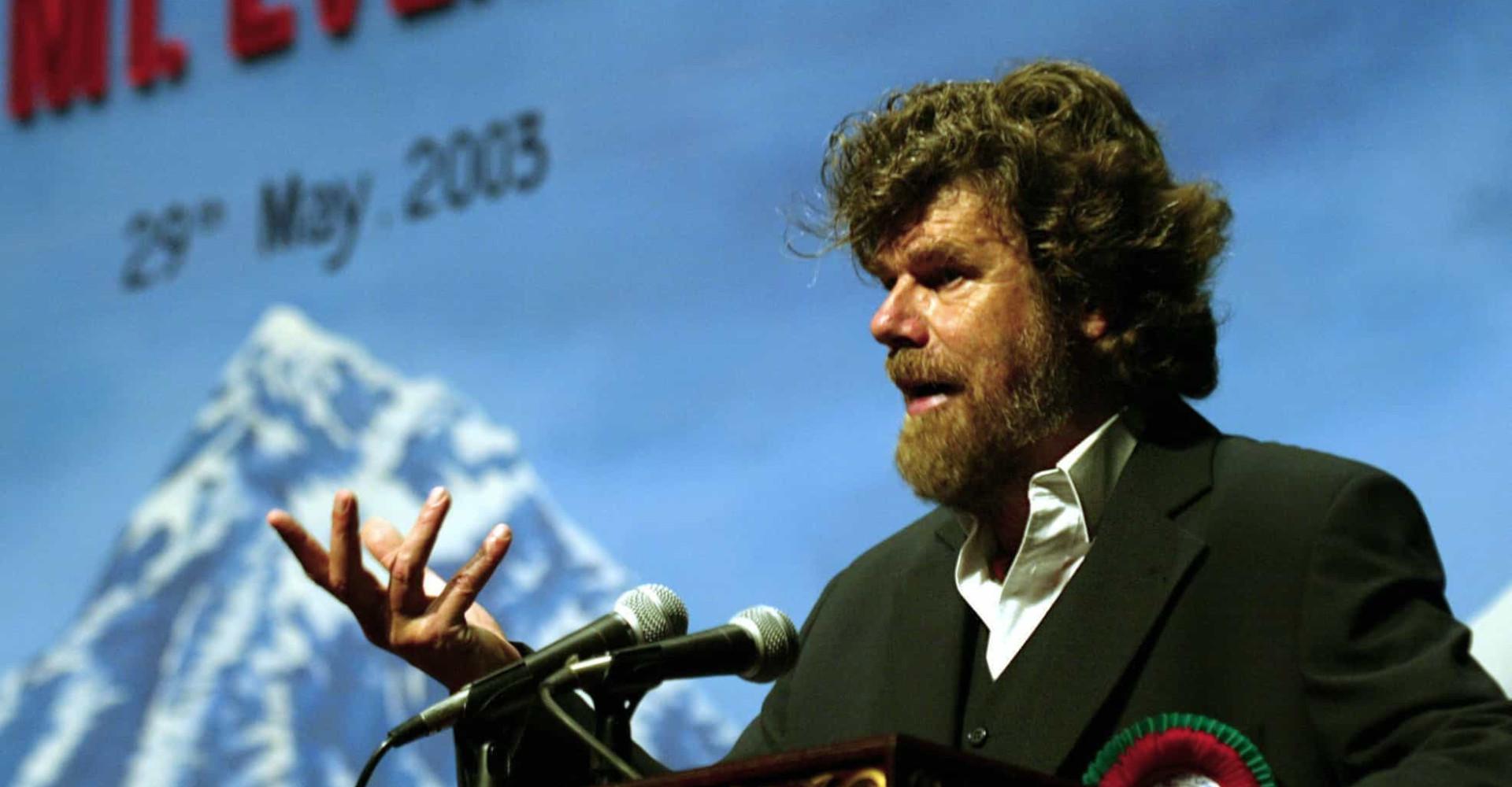 Reinhold Messner, Mann aus Eis und Schnee