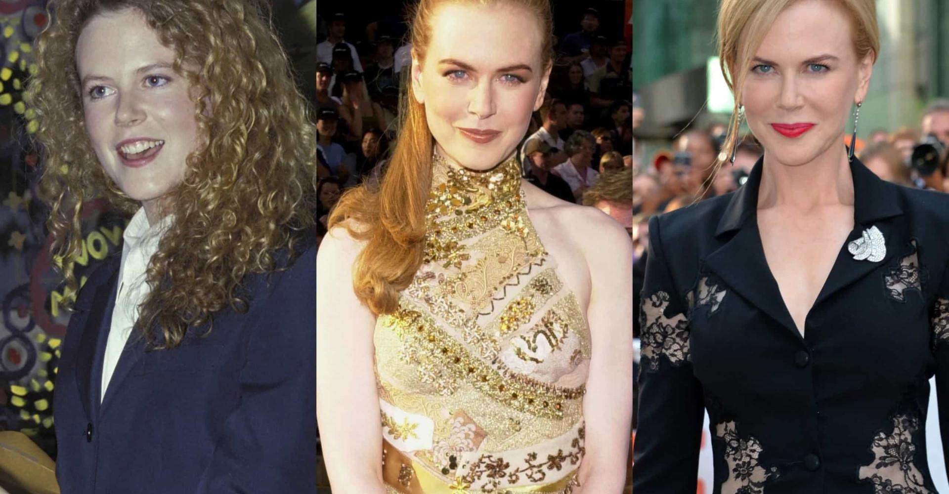Nicole Kidman: As transformações no grande ecrã e fora dele
