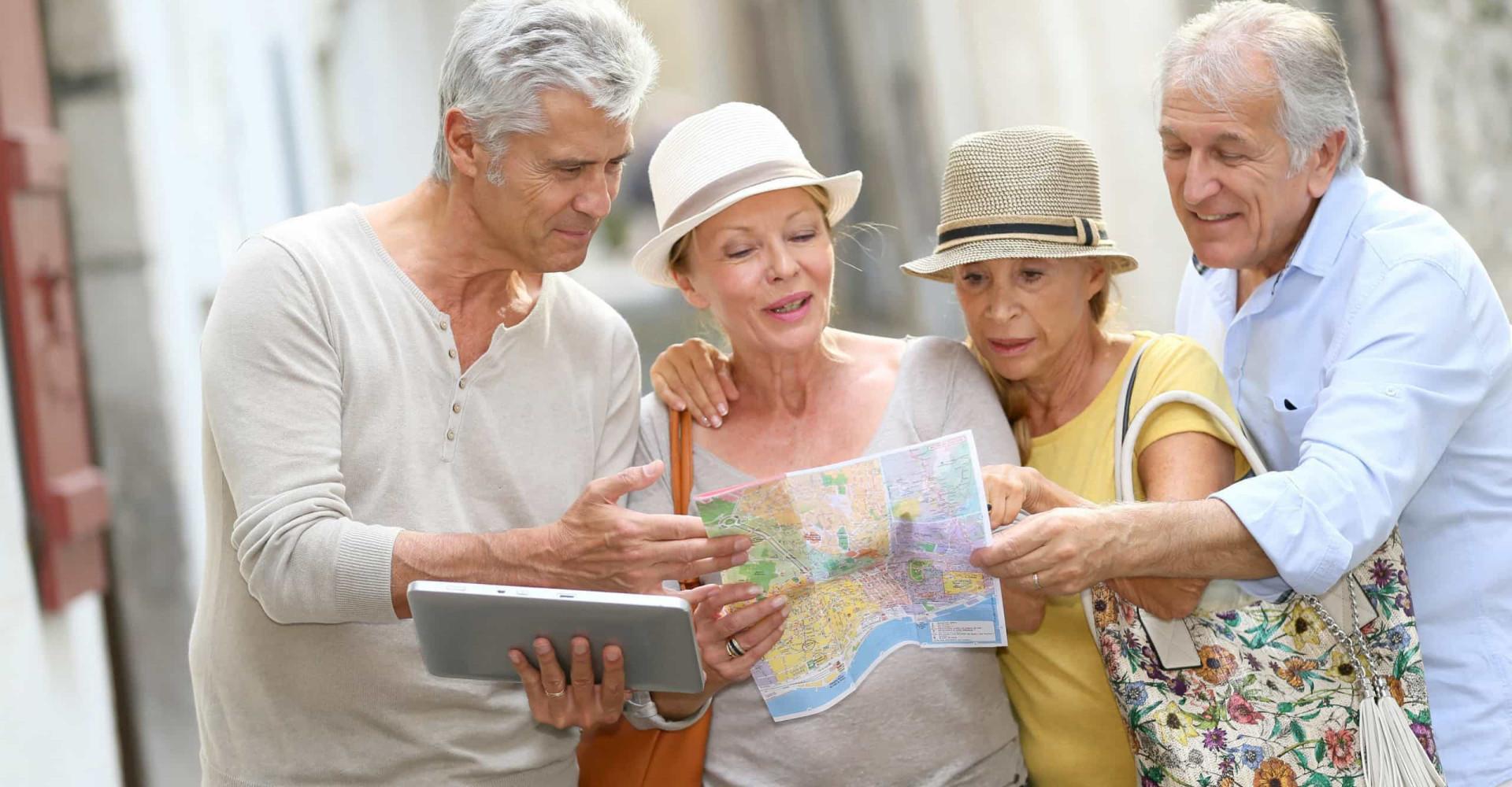Consejos para viajar sin sustos en la tercera edad
