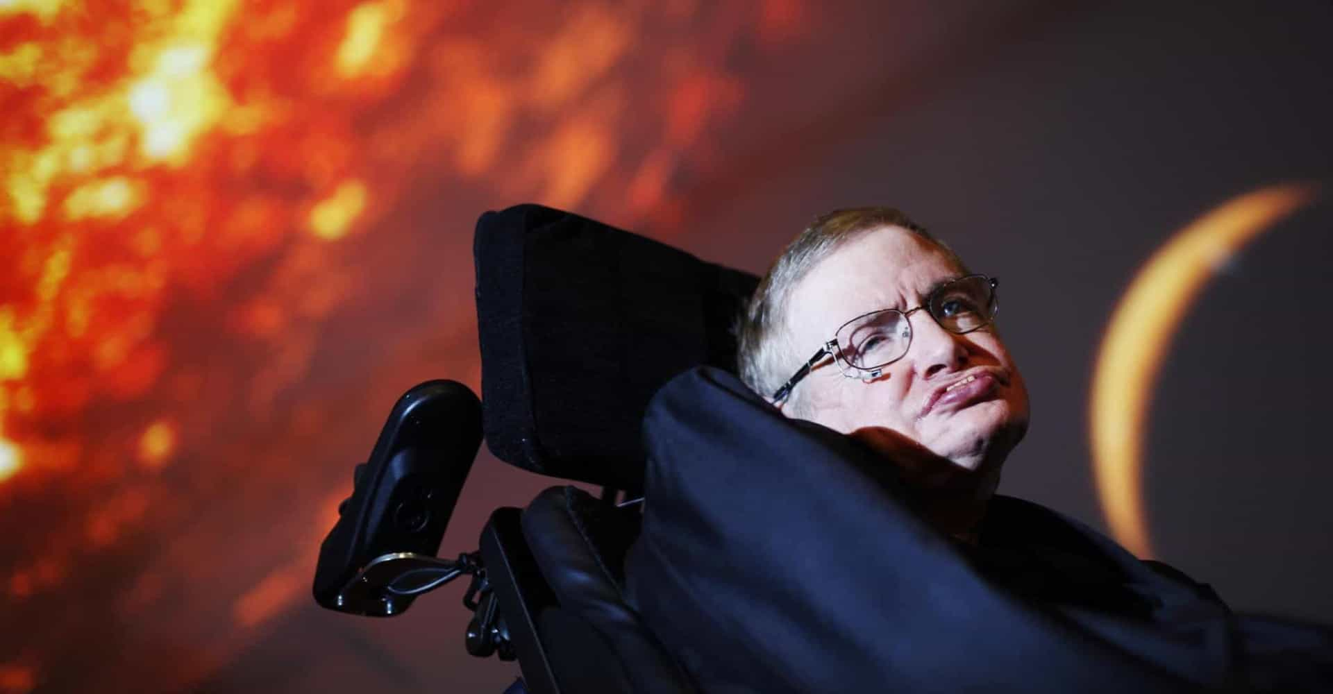 Stephen Hawking's life in pictures