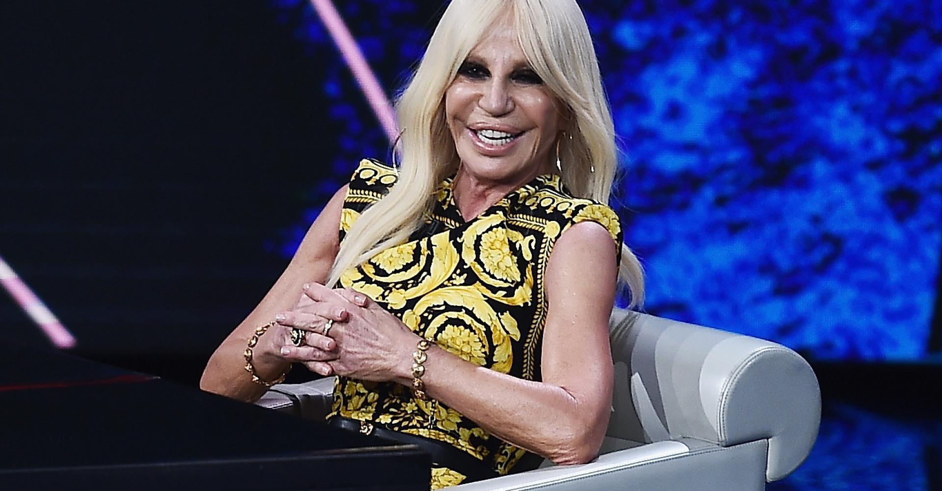 """I don't want to kill animals"" Donatella announces that Versace will go fur-free"