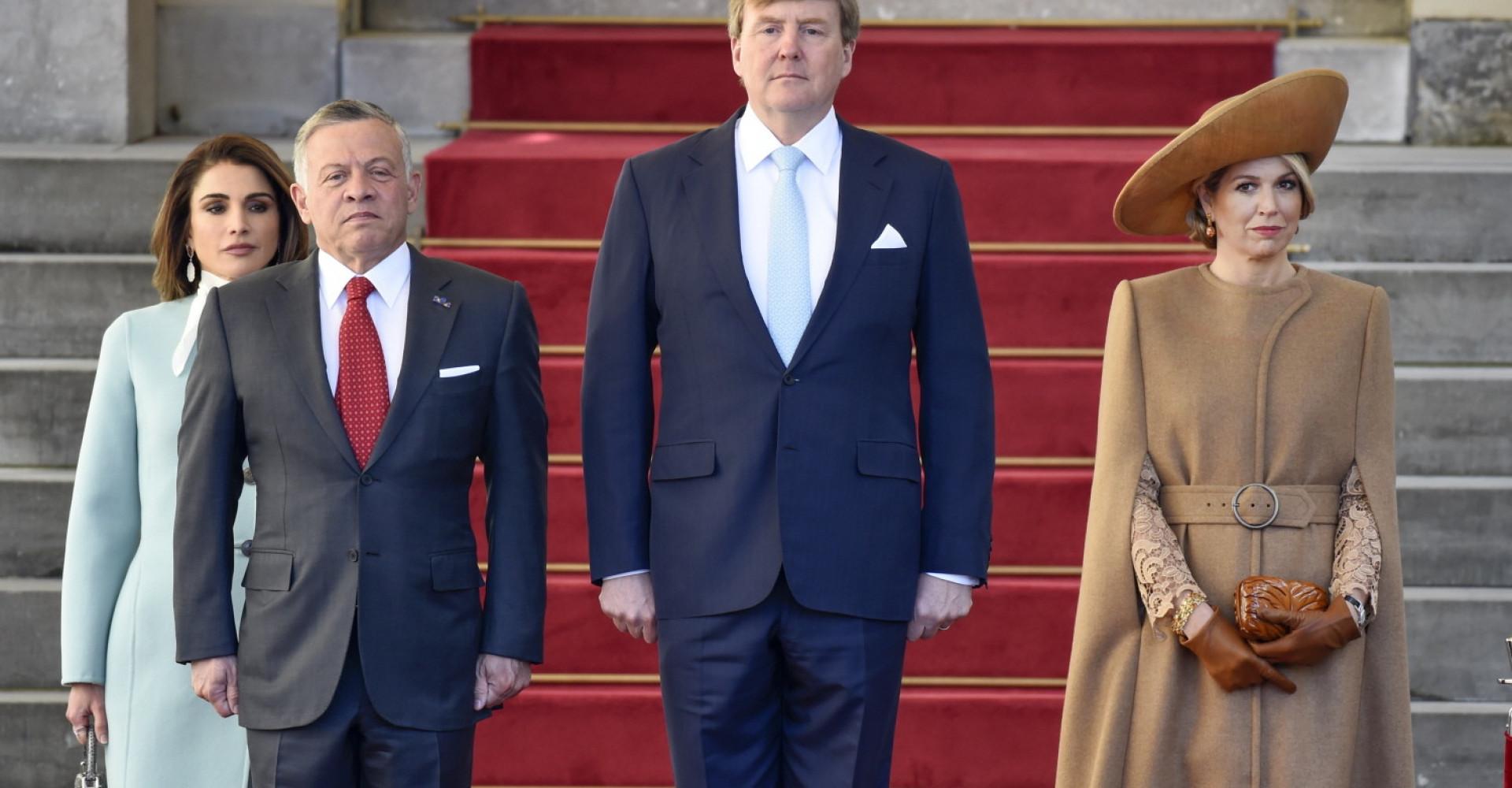 Wat droeg Koningin Máxima tijdens koninklijk bezoek uit Jordanië?
