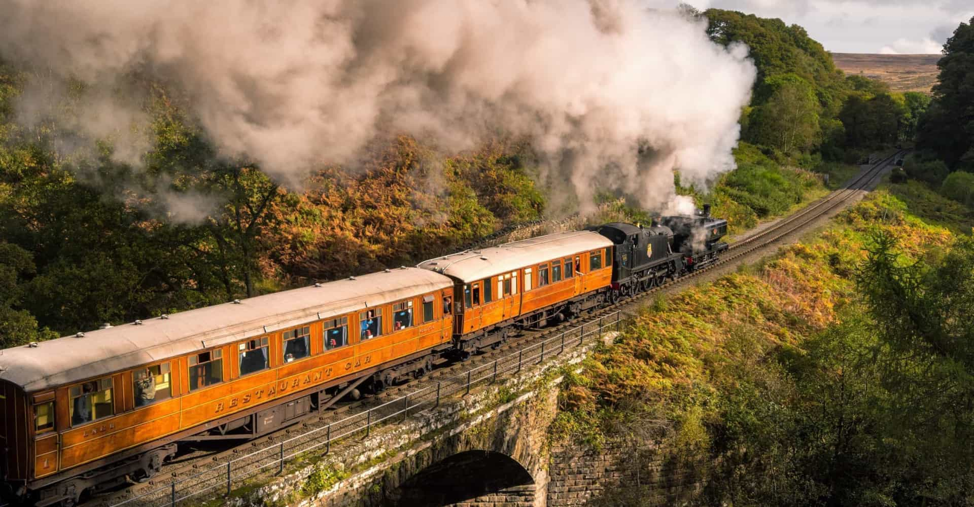 The most beautiful train journeys in Britain