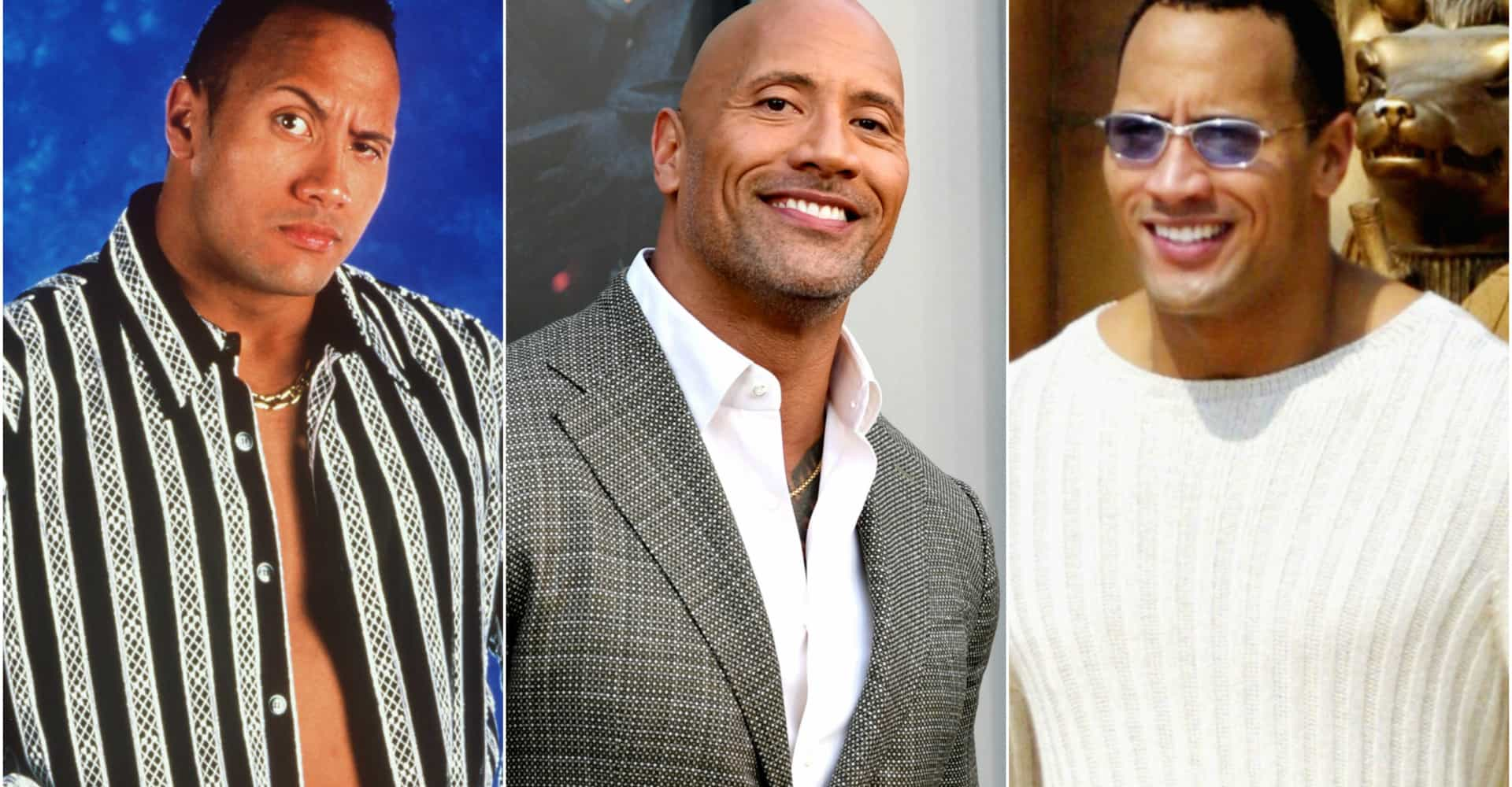 The Rock's birthday: watch Dwayne Johnson's style evolve through the years