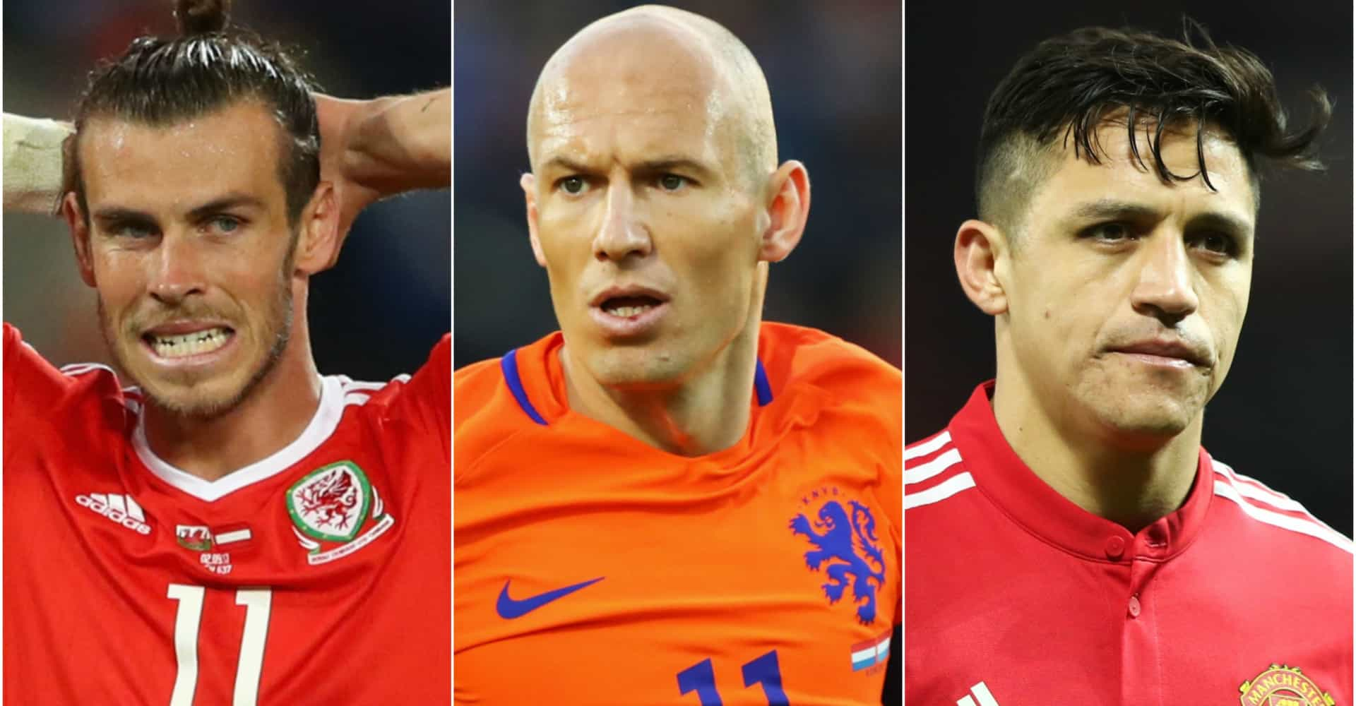 Soccer stars who will miss out on the 2018 World Cup