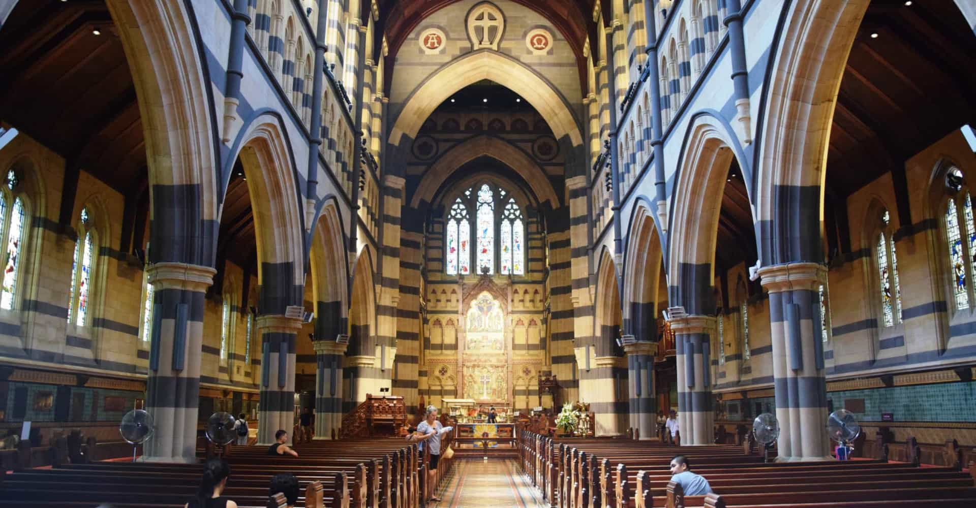 Australia's incredibly beautiful cathedrals