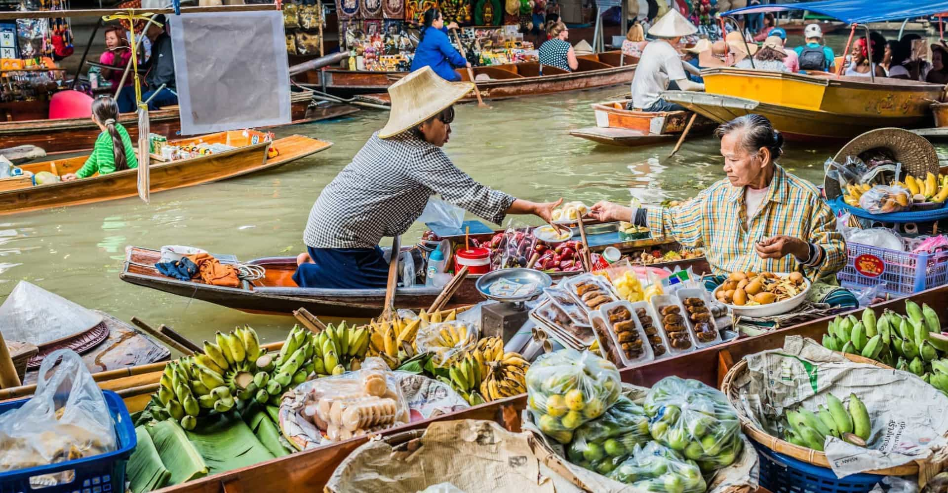 Discover Asia's magical floating markets