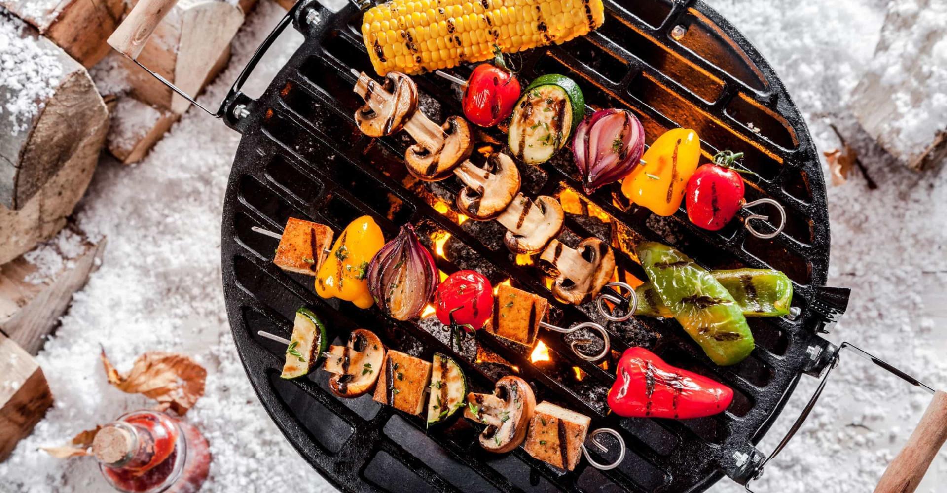 Heerlijke vegetarische BBQ in een handomdraai