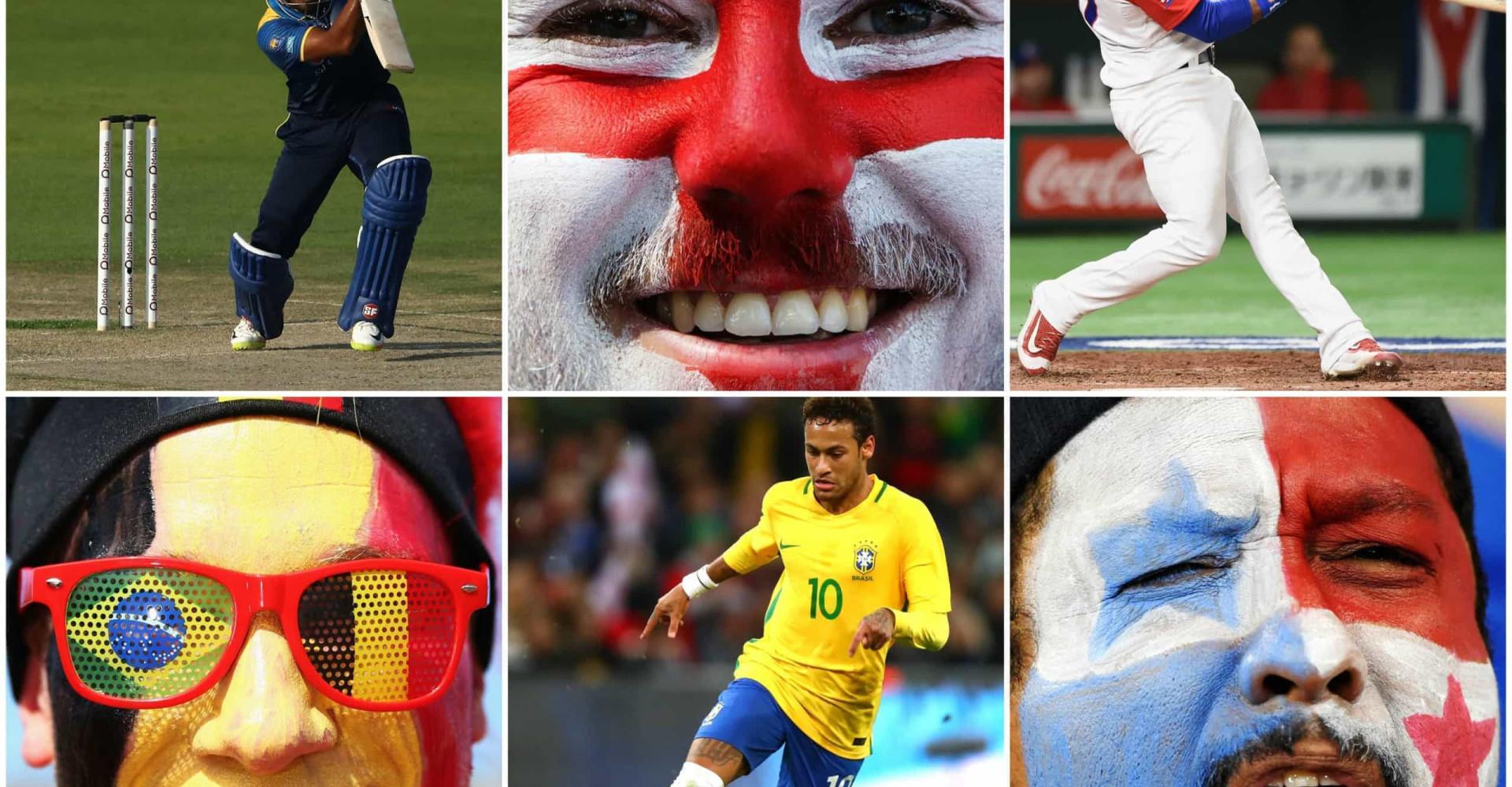各国で最も人気のスポーツ
