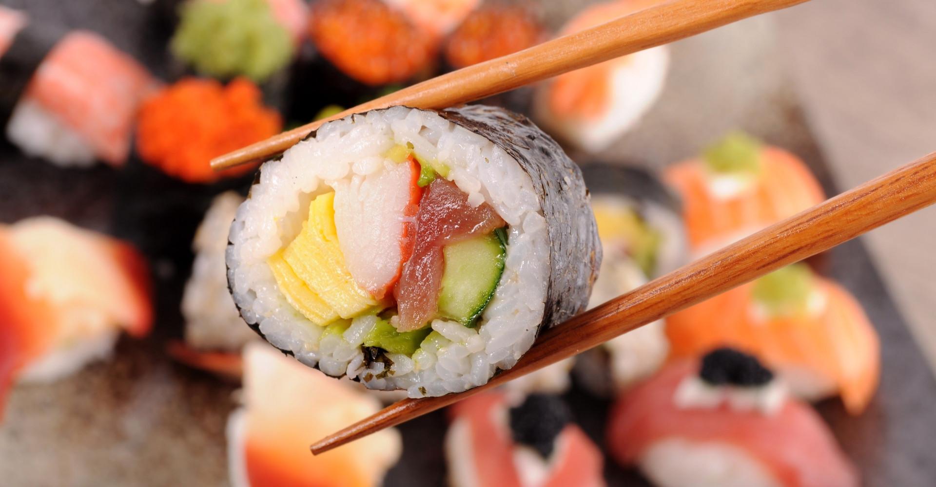 Dit is de allernieuwste sushi trend