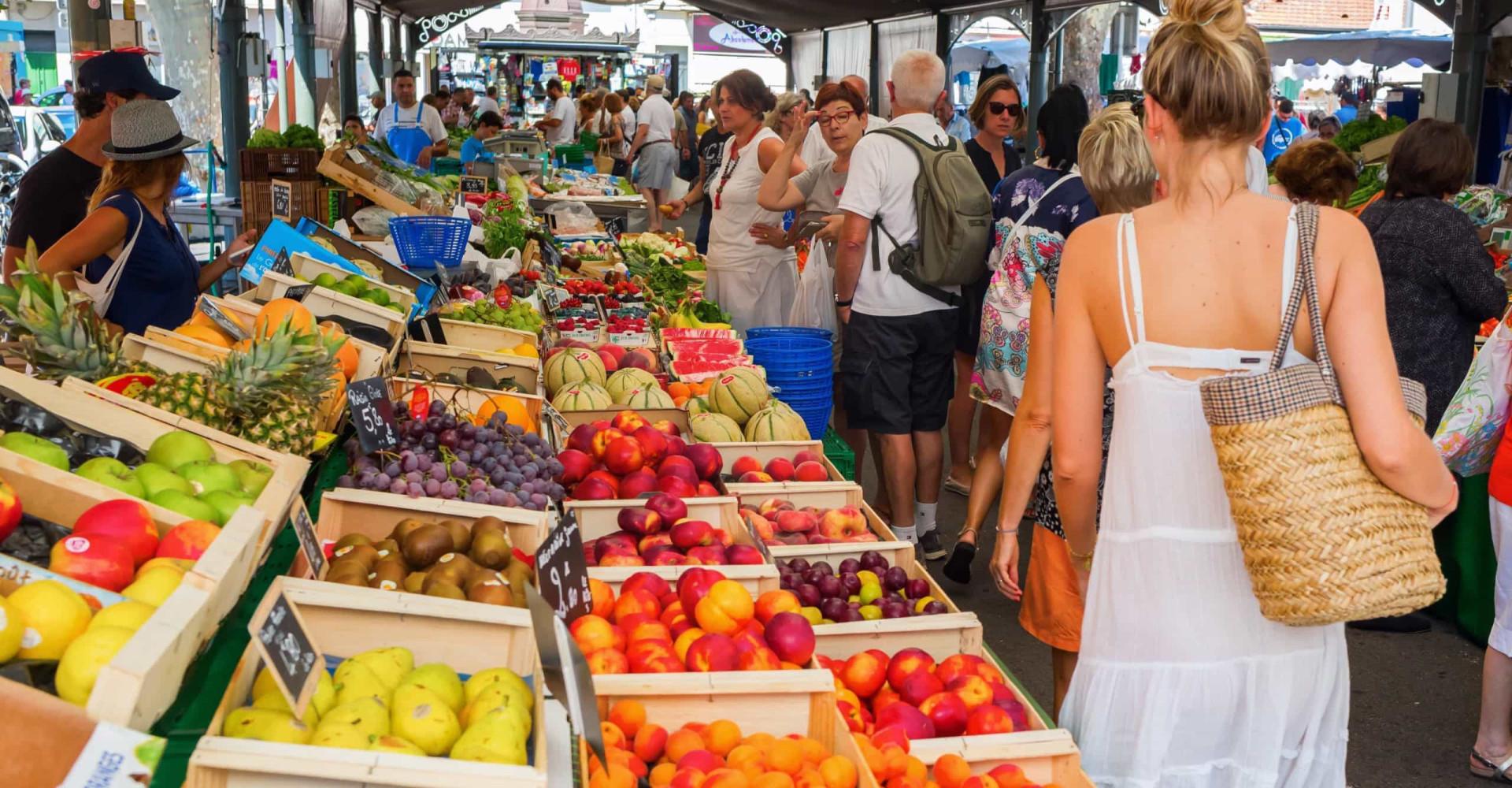 Les plus beaux marchés de France en images