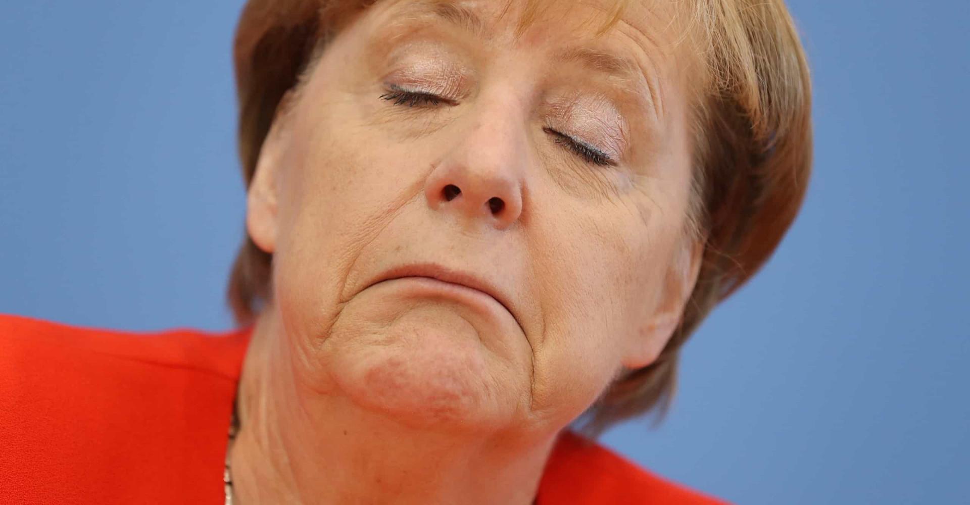 Die lustigsten Gesichtsausdrücke von Angela Merkel