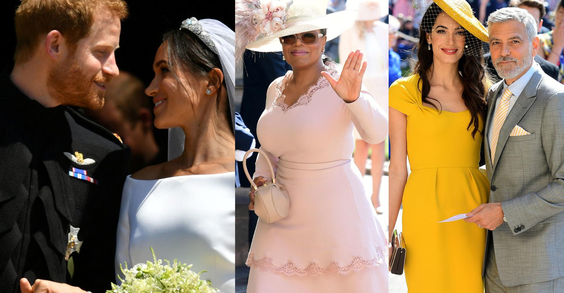 Veja os looks dos convidados do casamento do Príncipe Harry e Meghan!