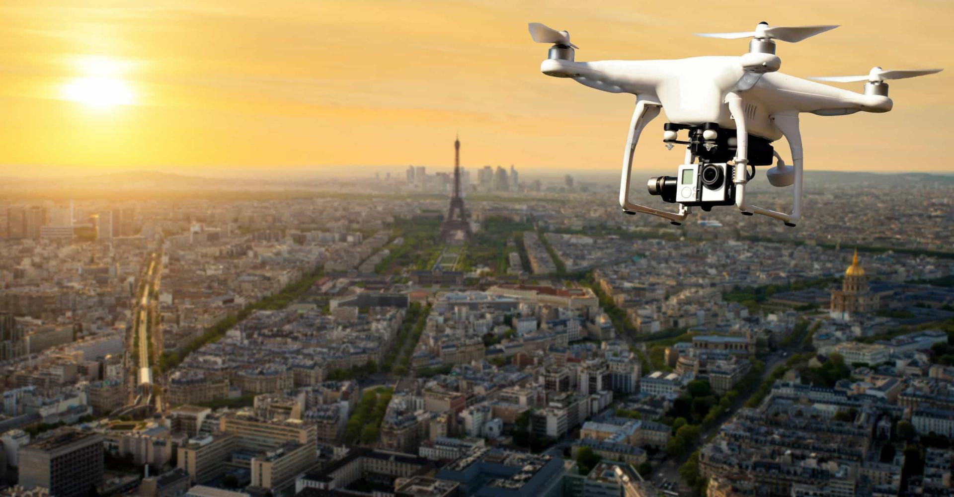 La France vue d'un drone
