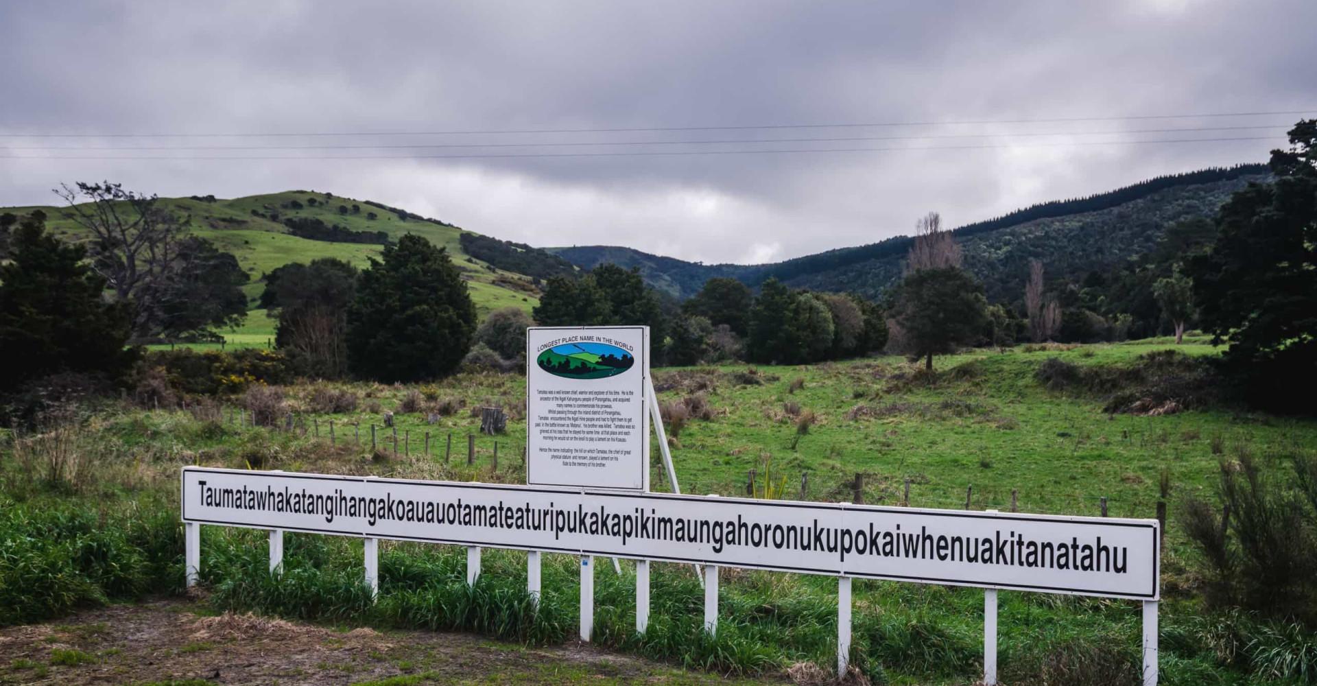 Die längsten Ortsnamen der Welt