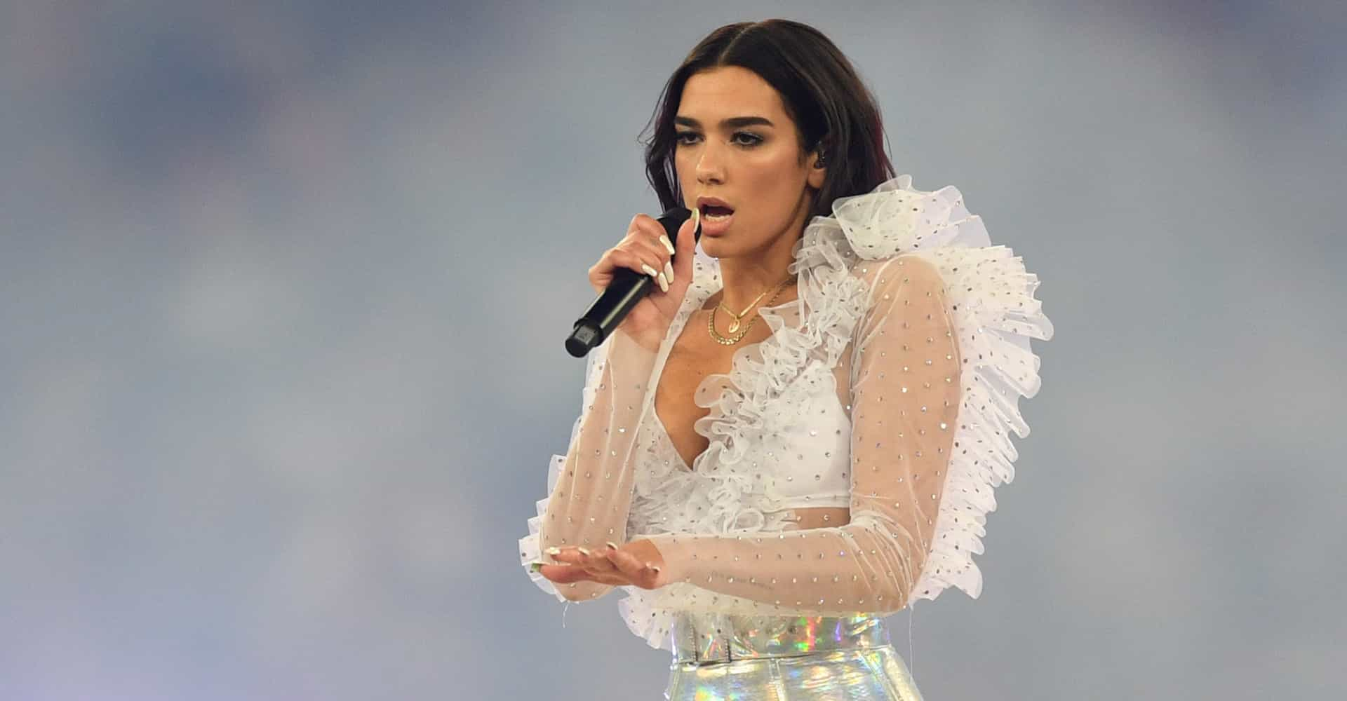 "Dua Lipa hit with backlash over ""accessible"" clothing line"
