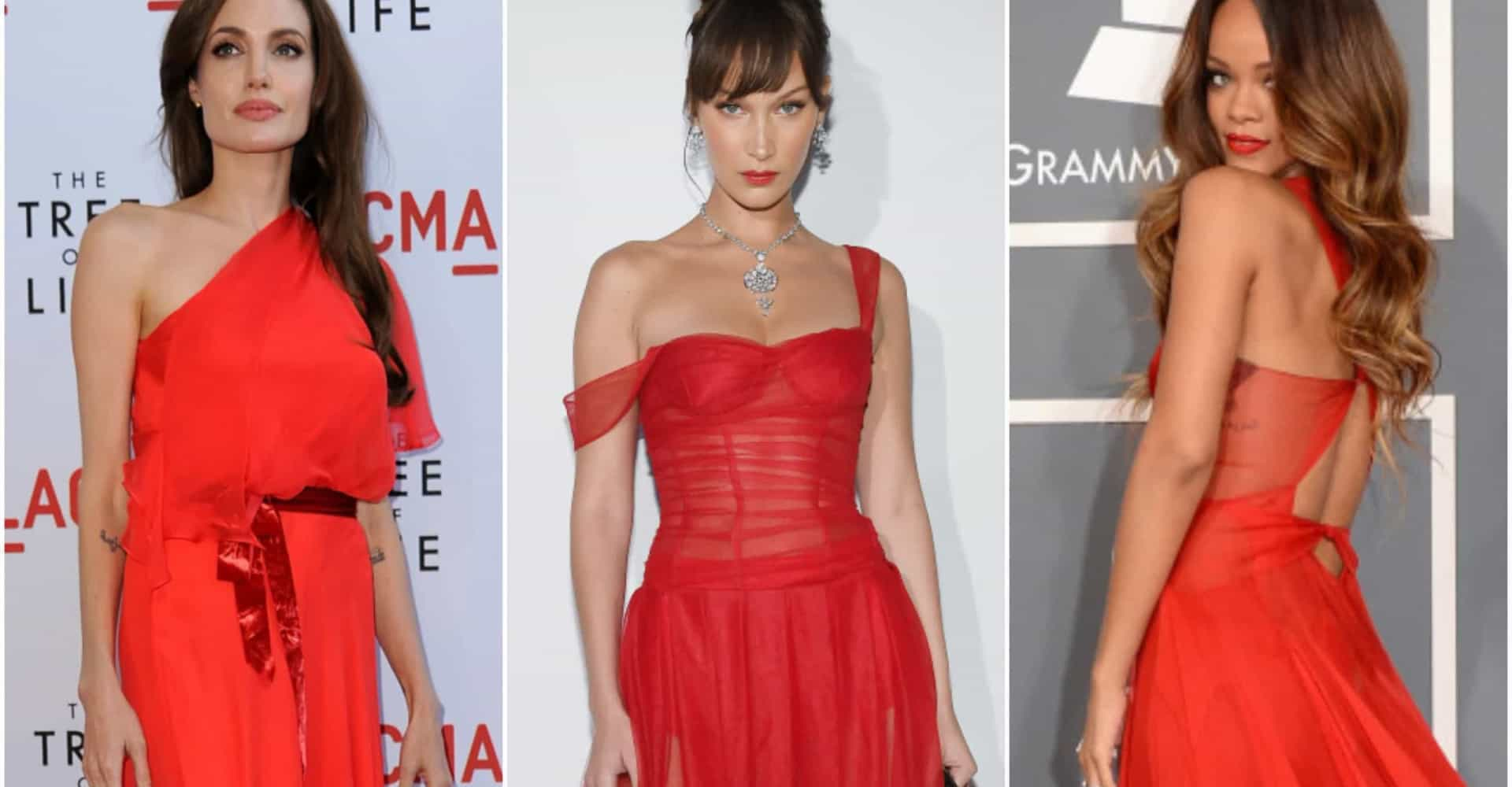 Celebrities who serially stun in scarlet