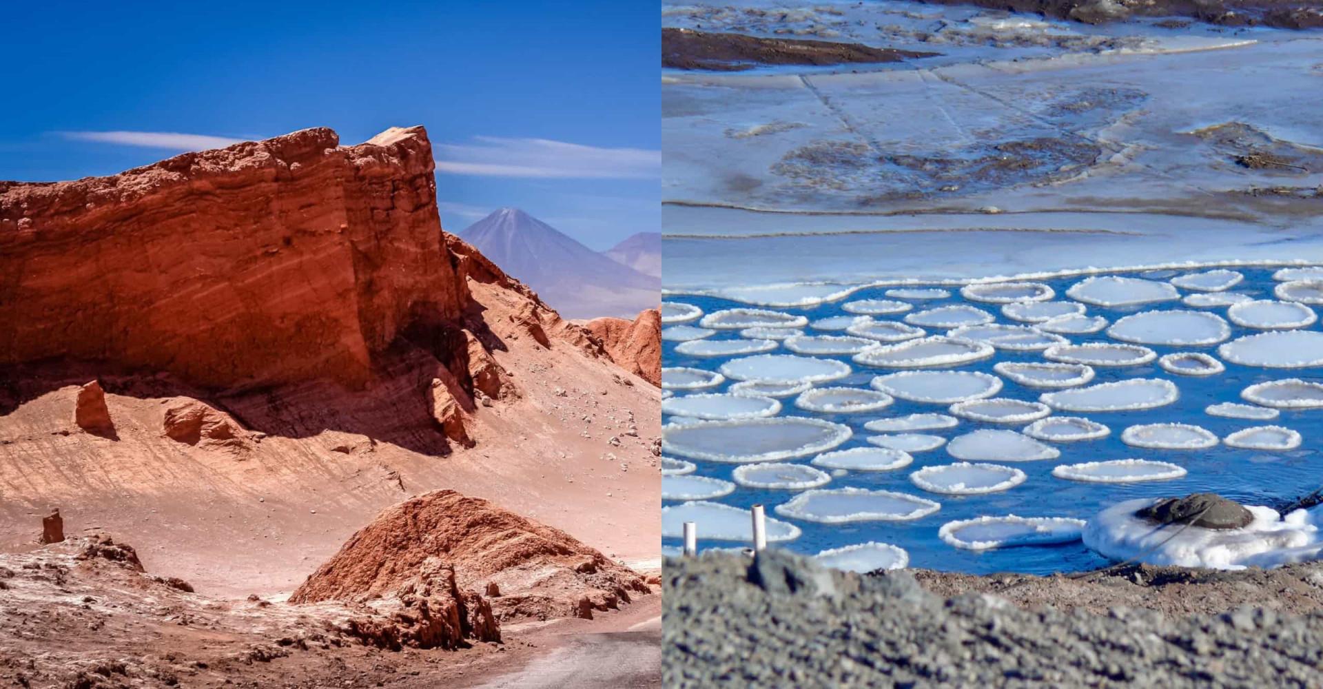 I luoghi più umidi e più aridi del pianeta