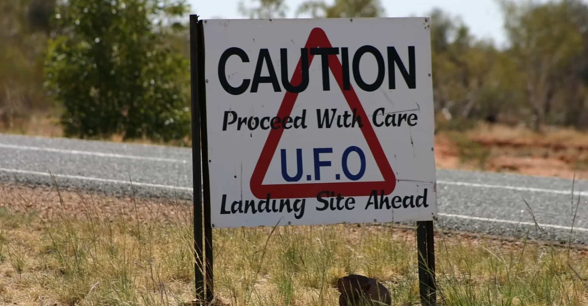 UFO sightings down under