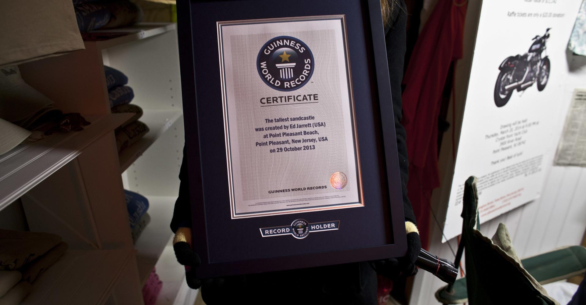 Belgen die The Guinness Book of Records hebben gehaald