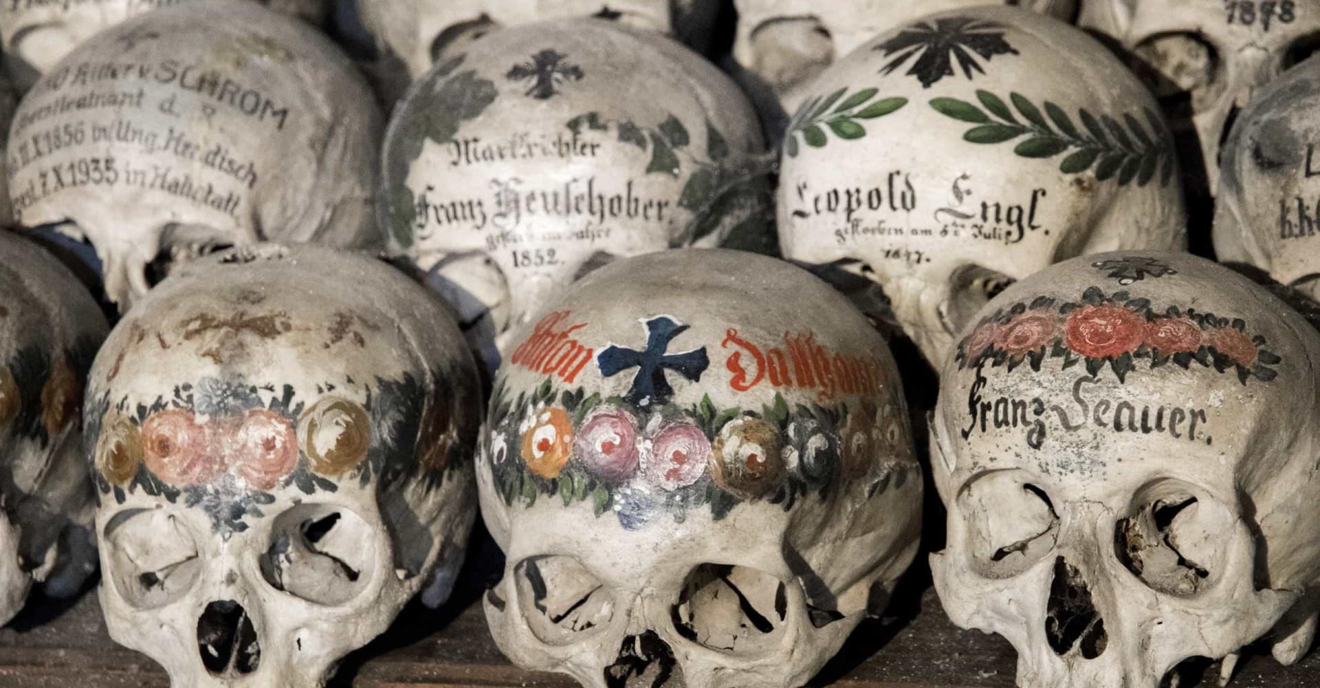 유럽 전역에 있는 흩어져 있는 '해골' 예배당