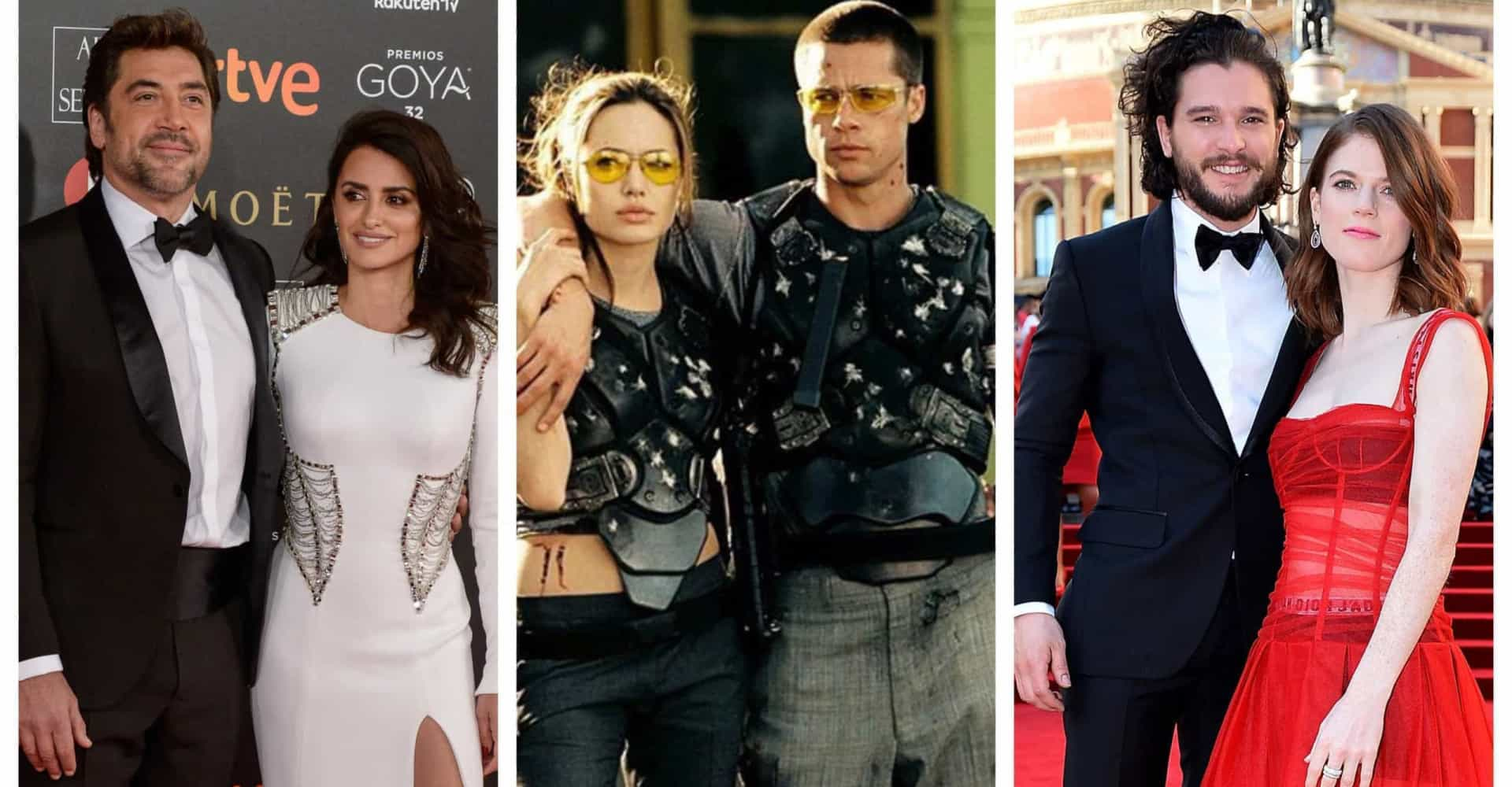The celebrity couples who got together on set