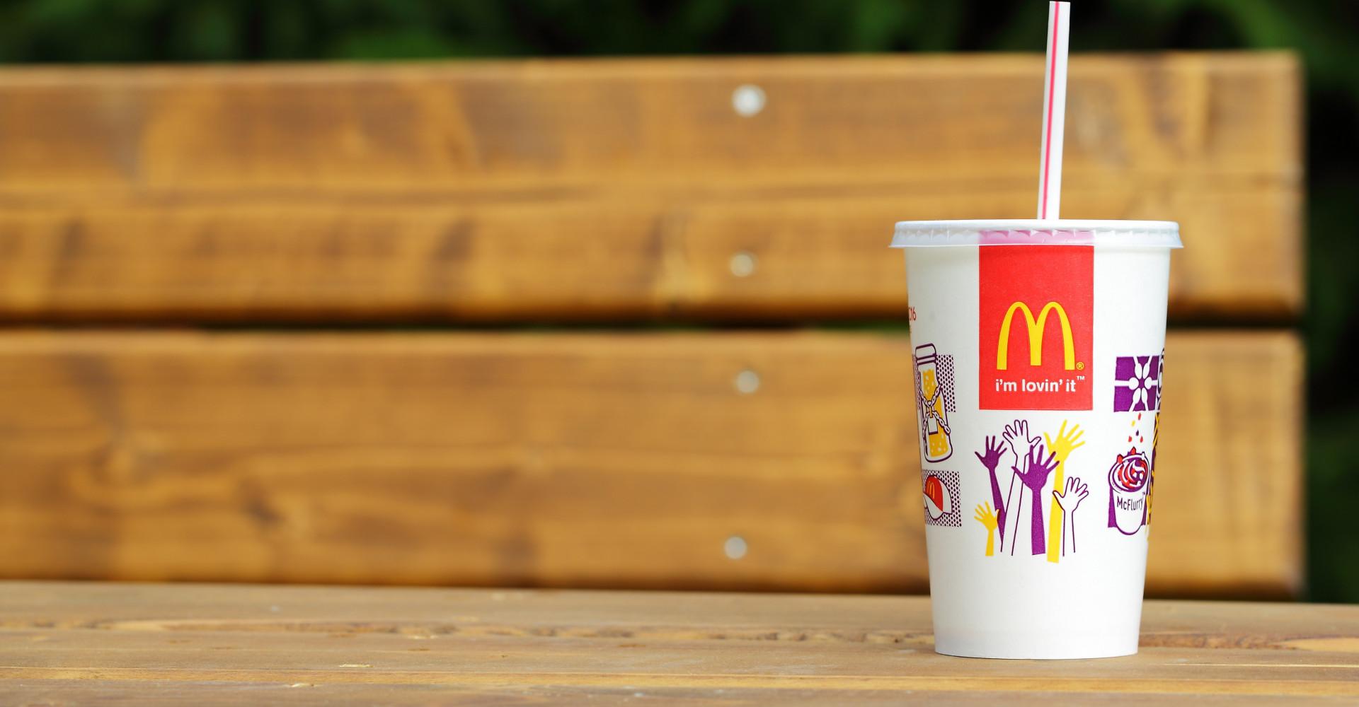 De kleinste McDonald's staat in Nederland