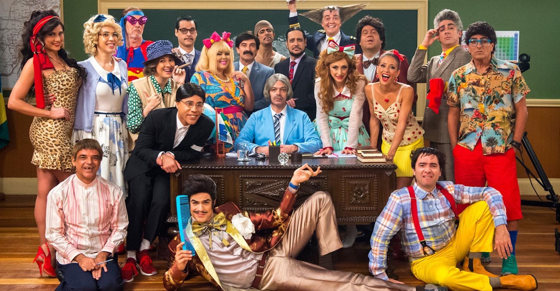 'Escolinha do Professor Raimundo' tem pior audiência de estreia na Globo