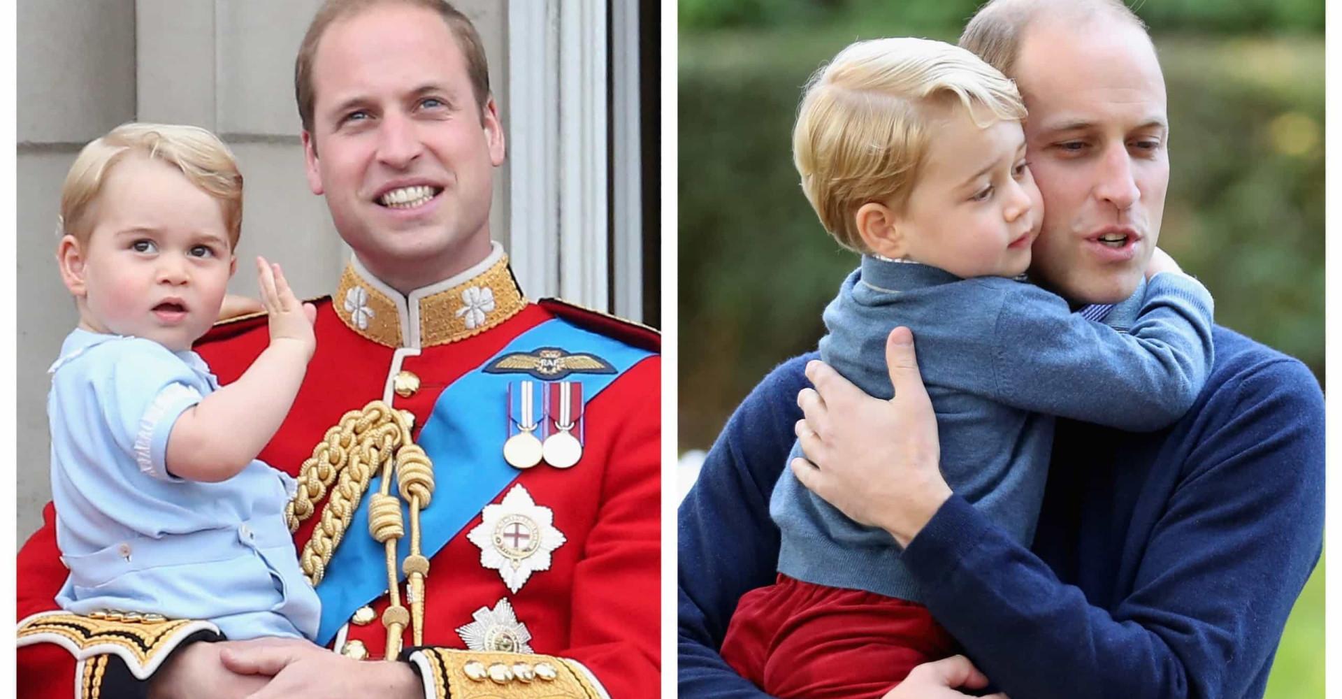 Prins William og George: De sødeste øjeblikke mellem far og søn