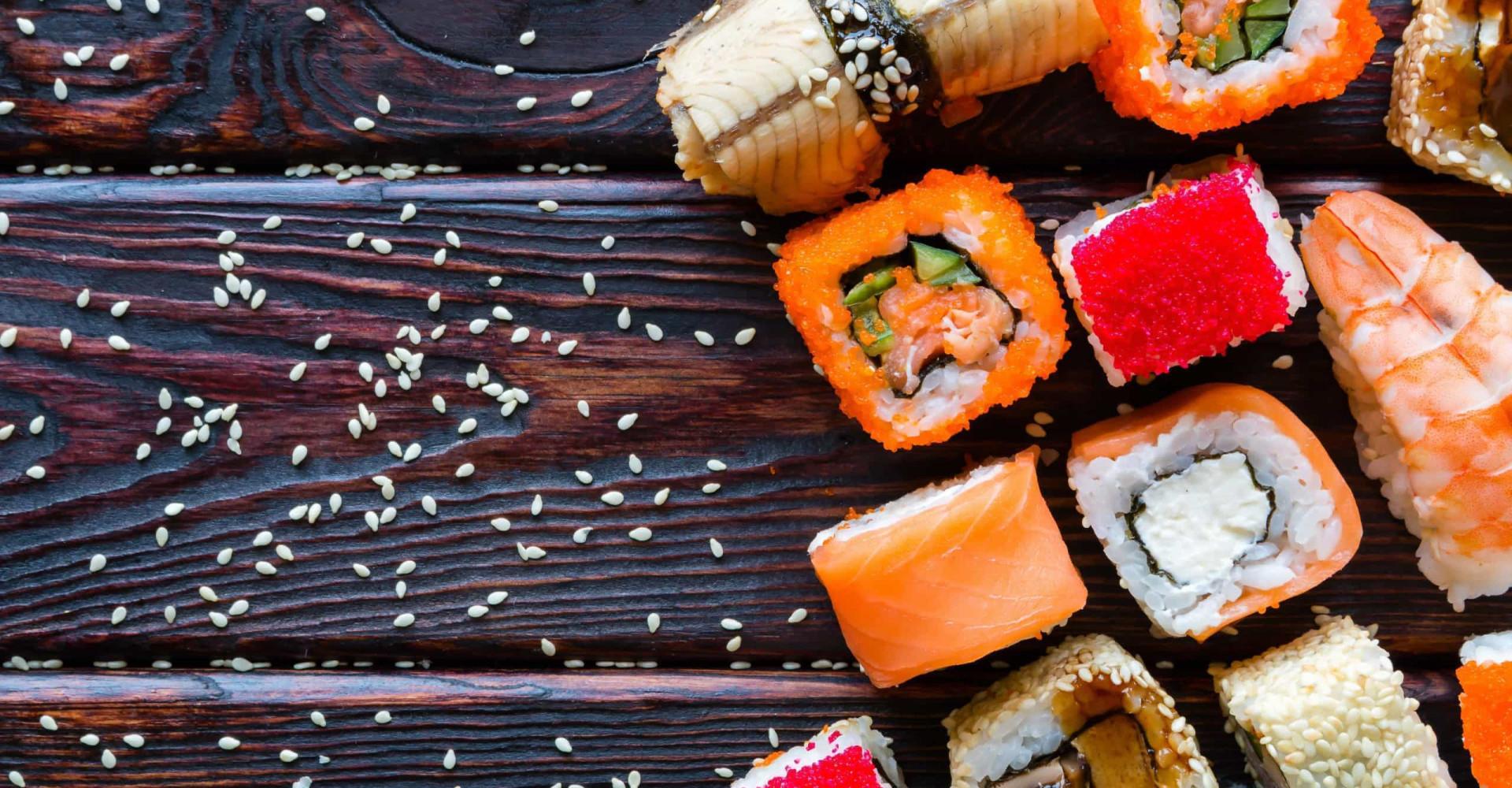 Comer con estilo: sushi hecho arte