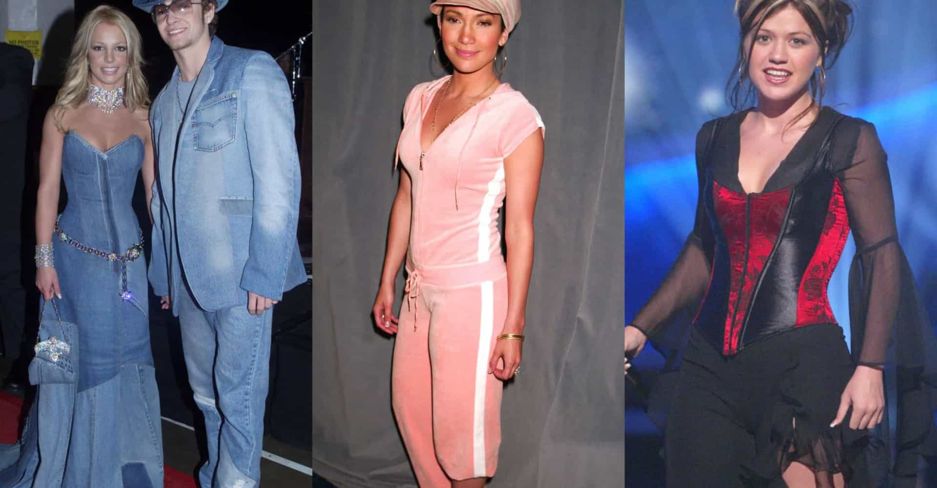 Early 2000s: fashion choices celebs wish they could forget