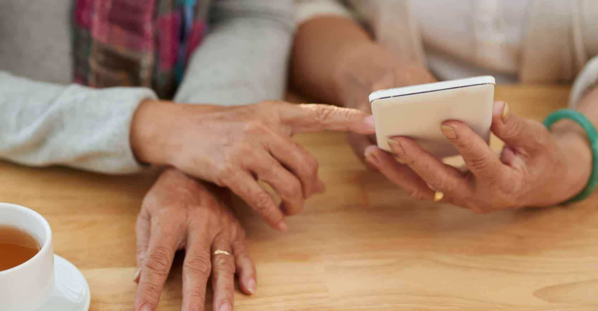 Technologie: des applications à destination des seniors