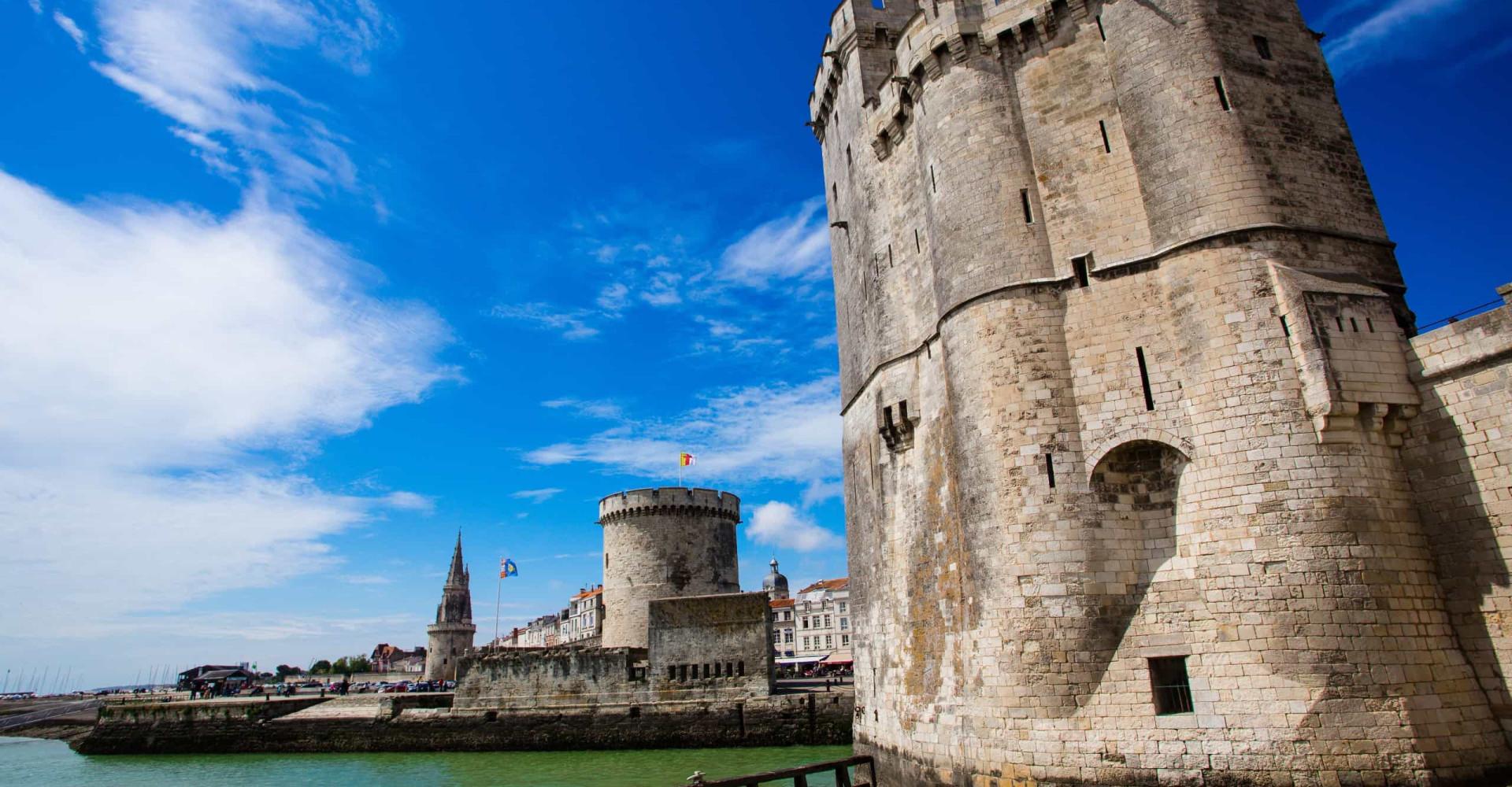 La Rochelle, où l'océan touche le ciel