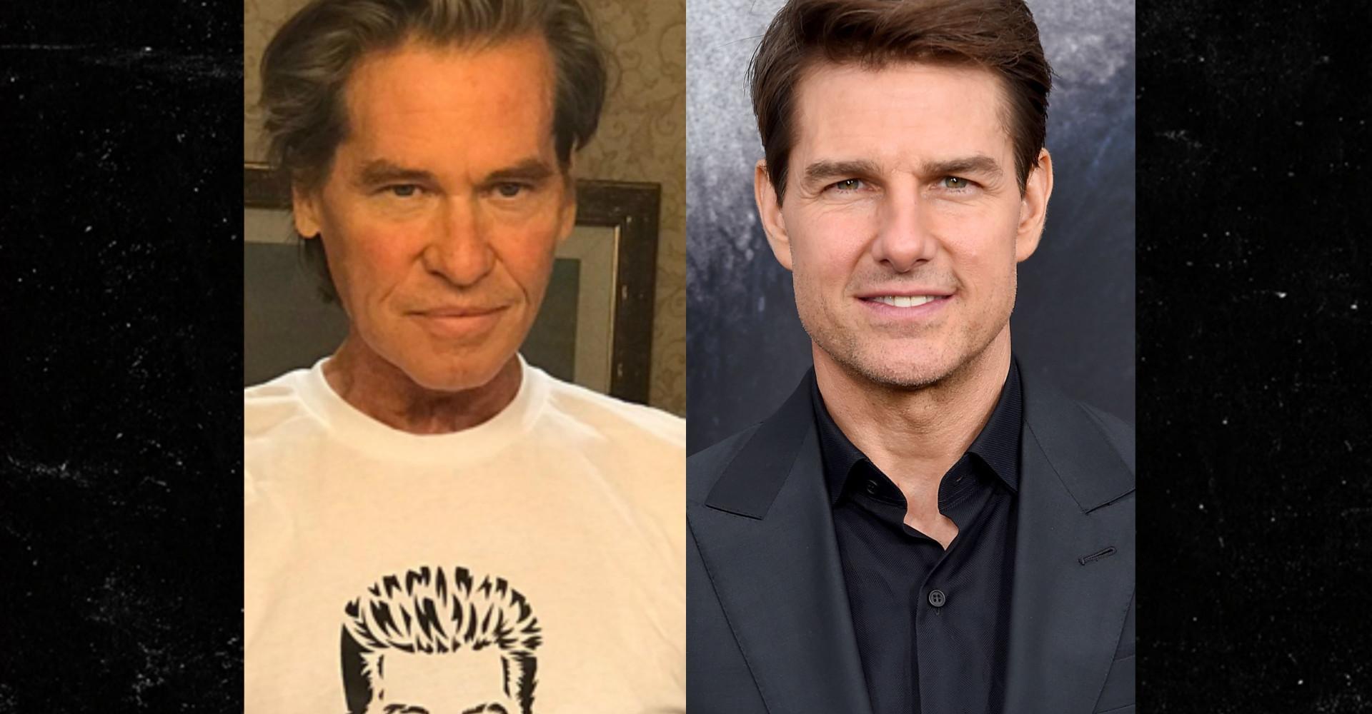Tom Cruise fala sobre tratamento de câncer de Val Kilmer
