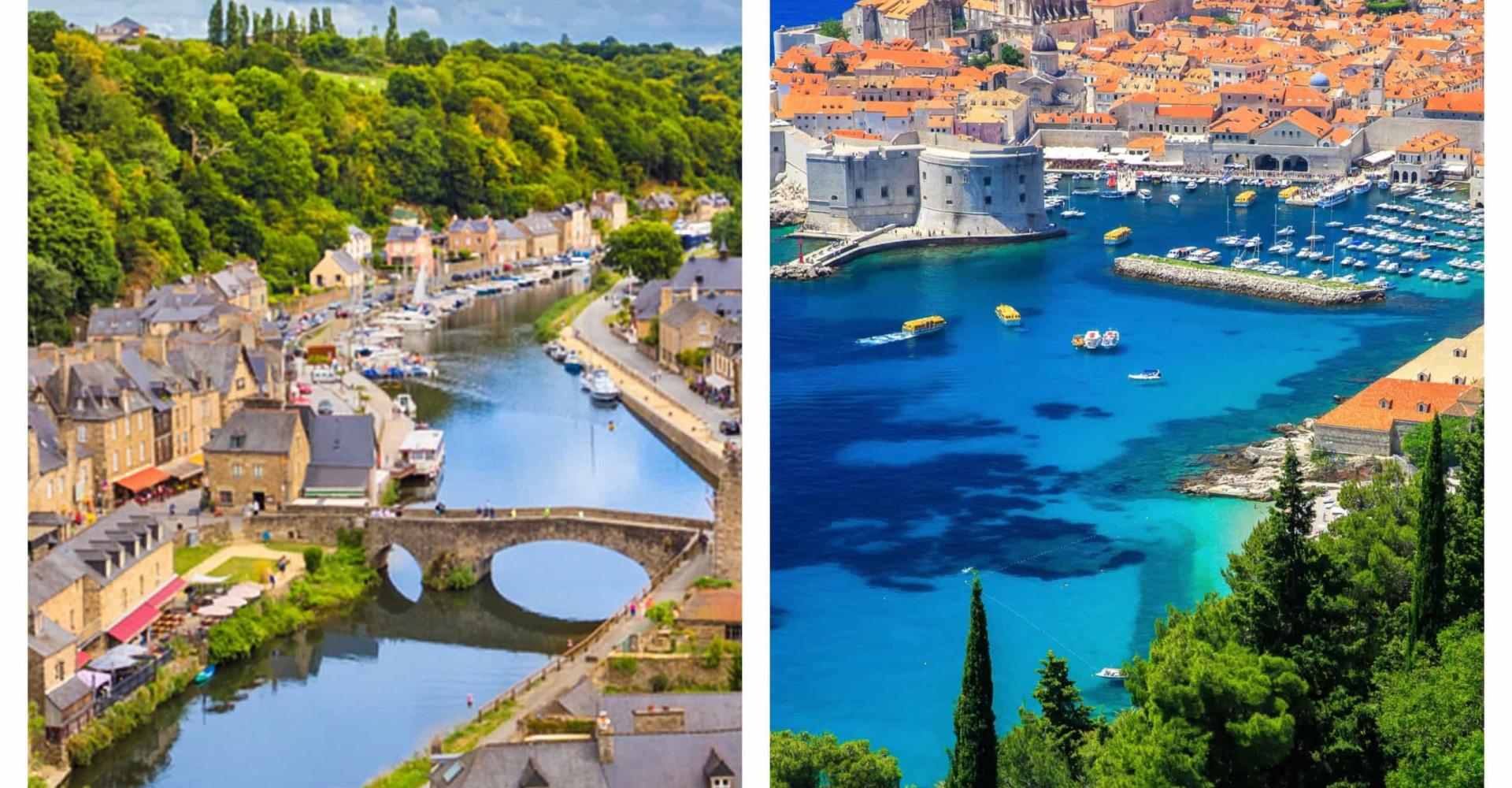 Frankrijk - Kroatië: de mooiste landschappen